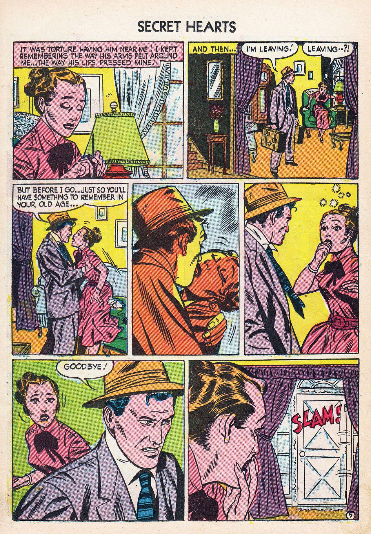 Read online Secret Hearts comic -  Issue #24 - 22