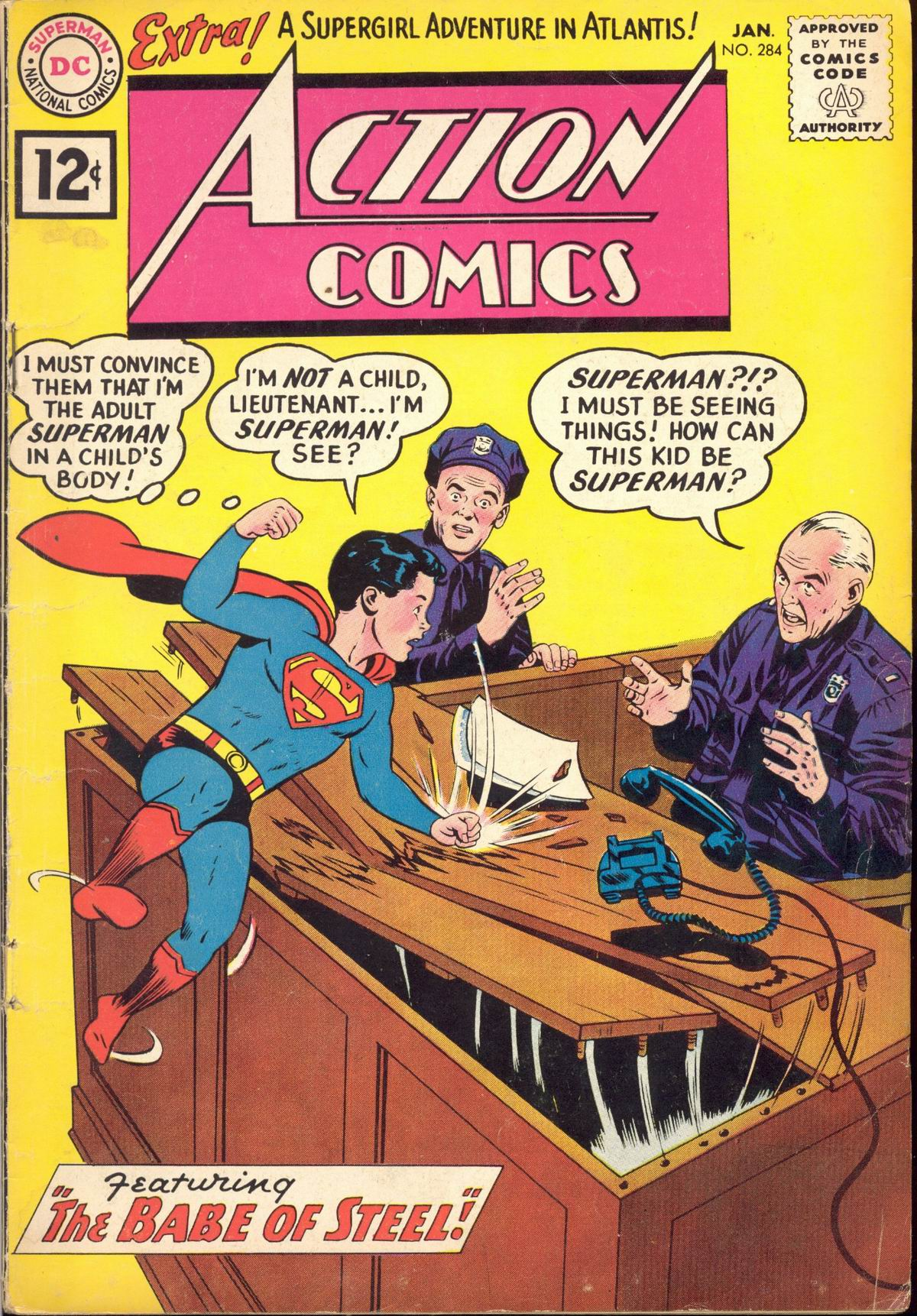 Action Comics (1938) 284 Page 1