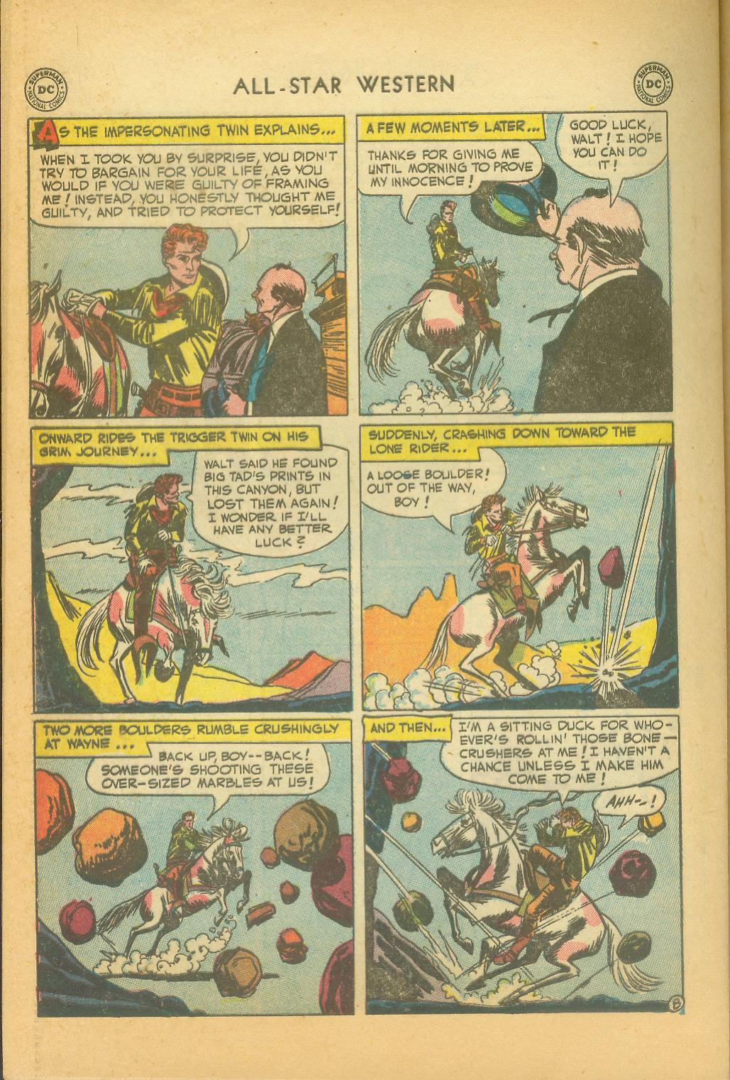 Read online All-Star Western (1951) comic -  Issue #61 - 38