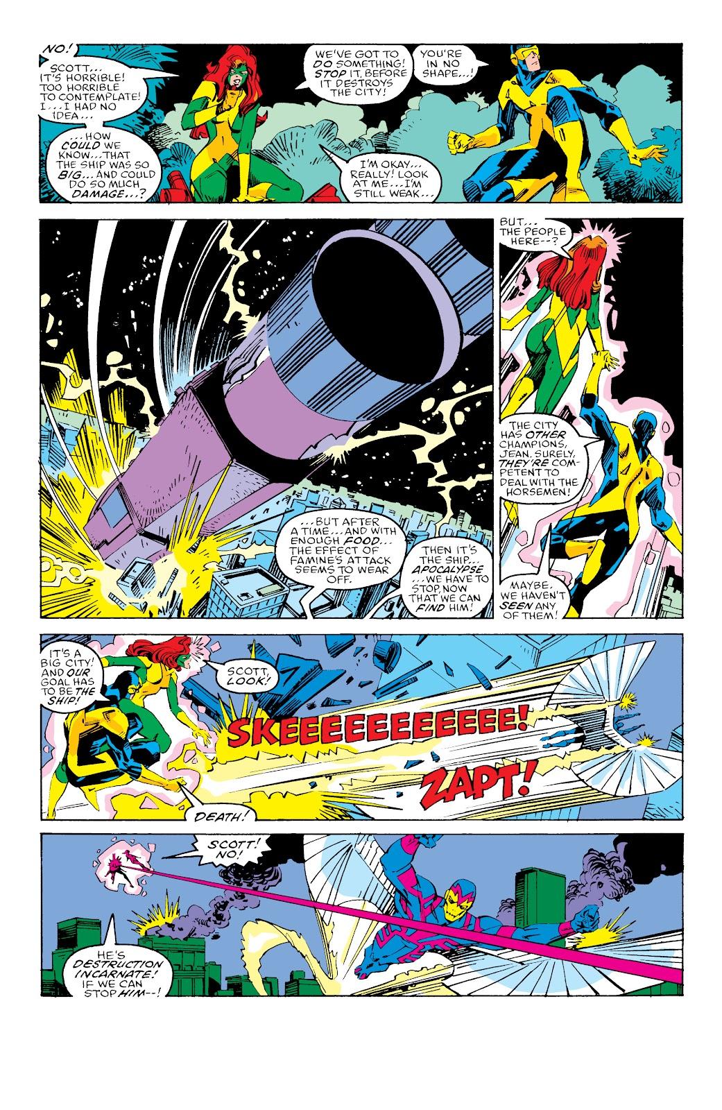 Read online X-Men Milestones: Fall of the Mutants comic -  Issue # TPB (Part 3) - 23