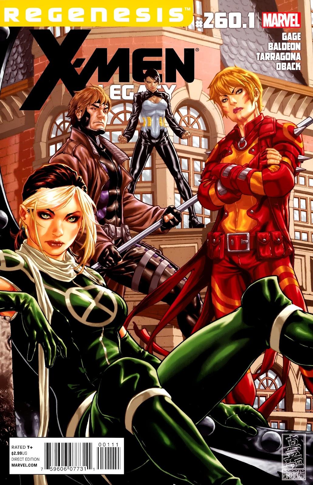 X-Men Legacy (2008) 260-1 Page 1