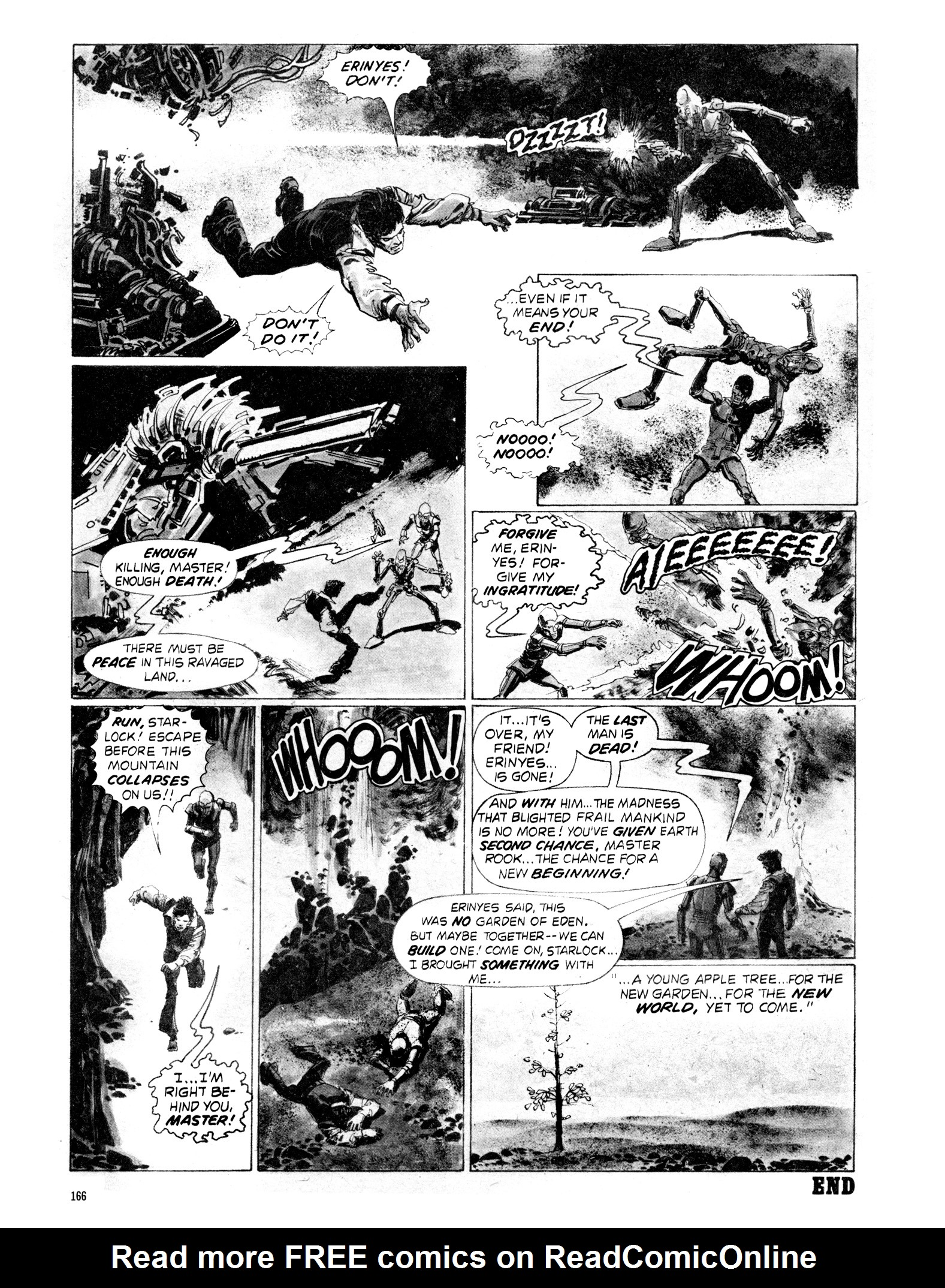 Read online Eerie Archives comic -  Issue # TPB 18 - 163