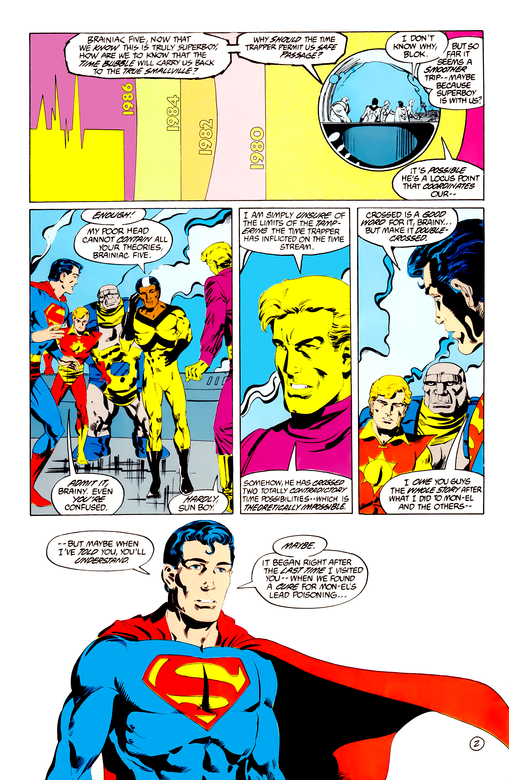 Legion of Super-Heroes (1984) 38 Page 2