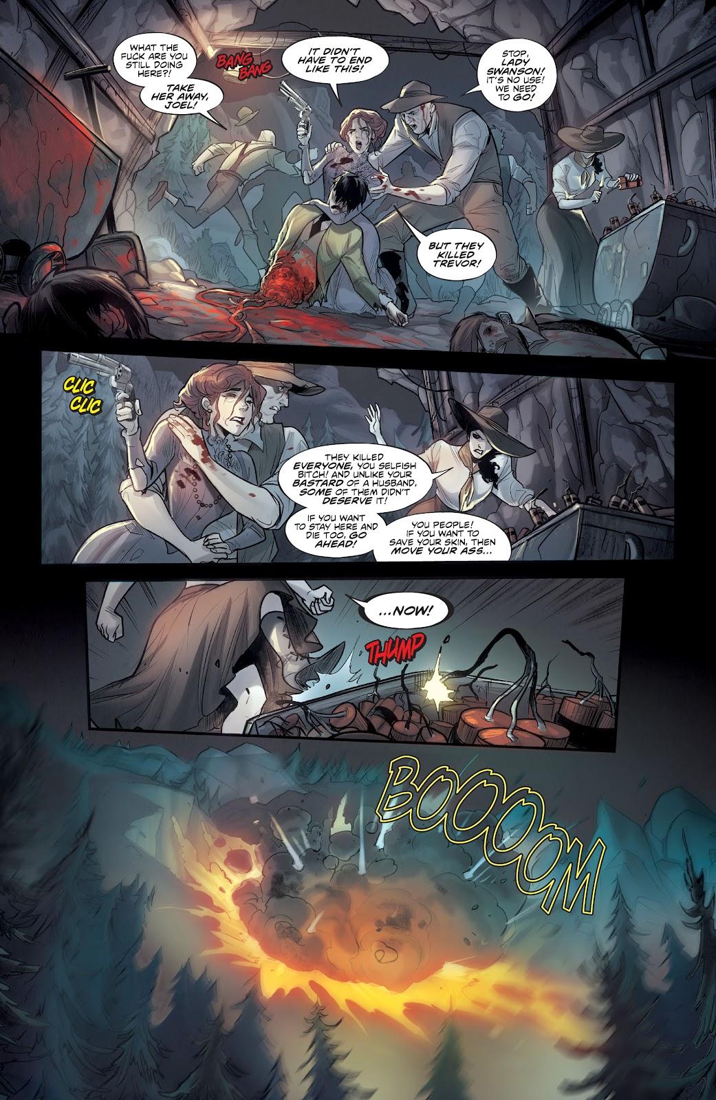 Read online Mirka Andolfo's Mercy comic -  Issue #1 - 4