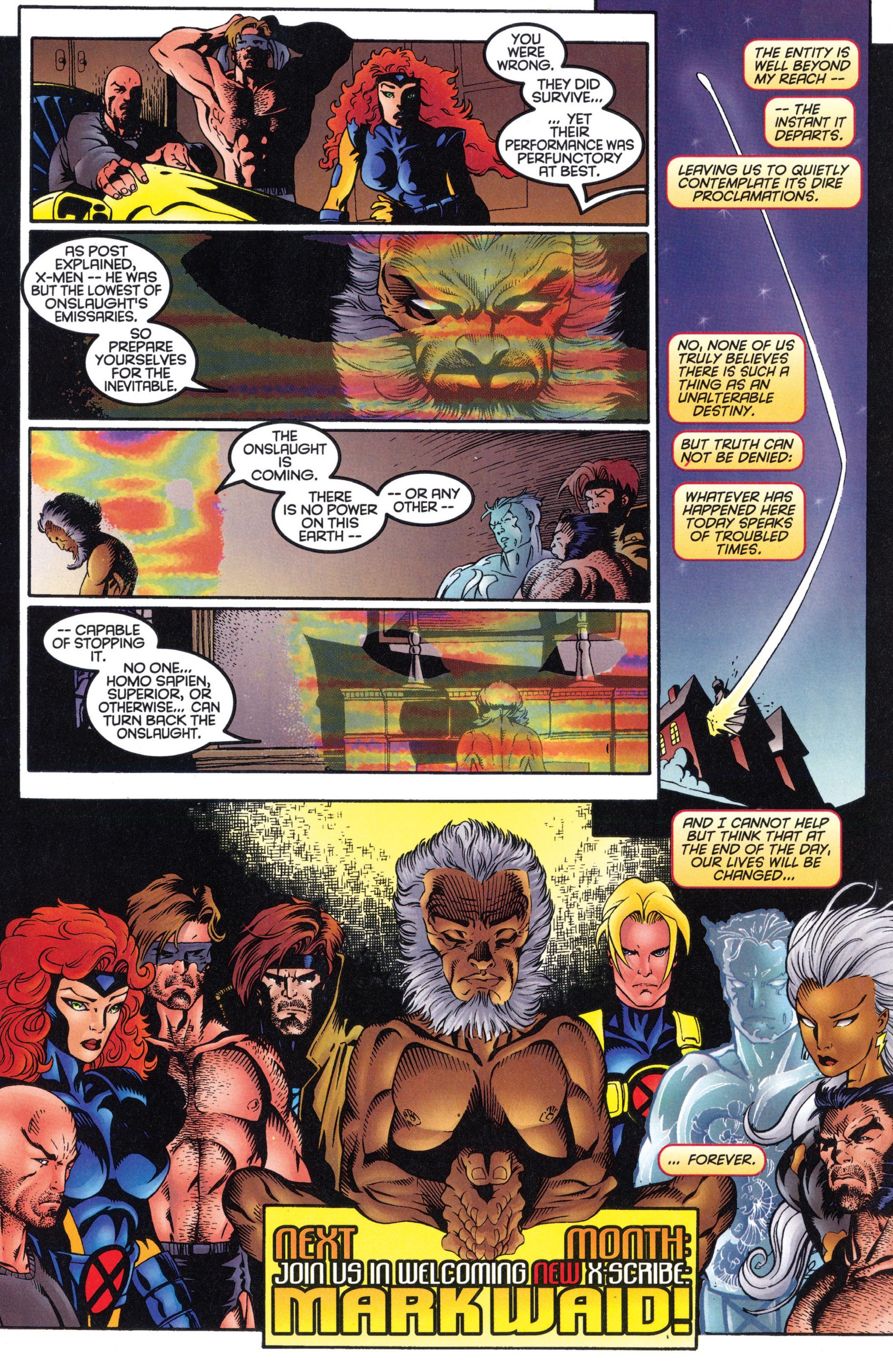 X-Men (1991) 50 Page 34