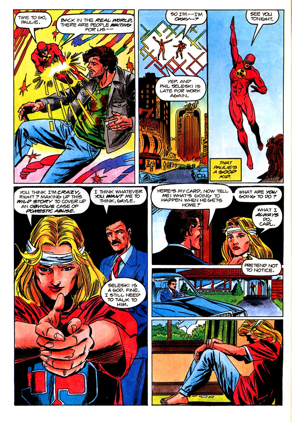 Read online Solar, Man of the Atom comic -  Issue #45 - 11