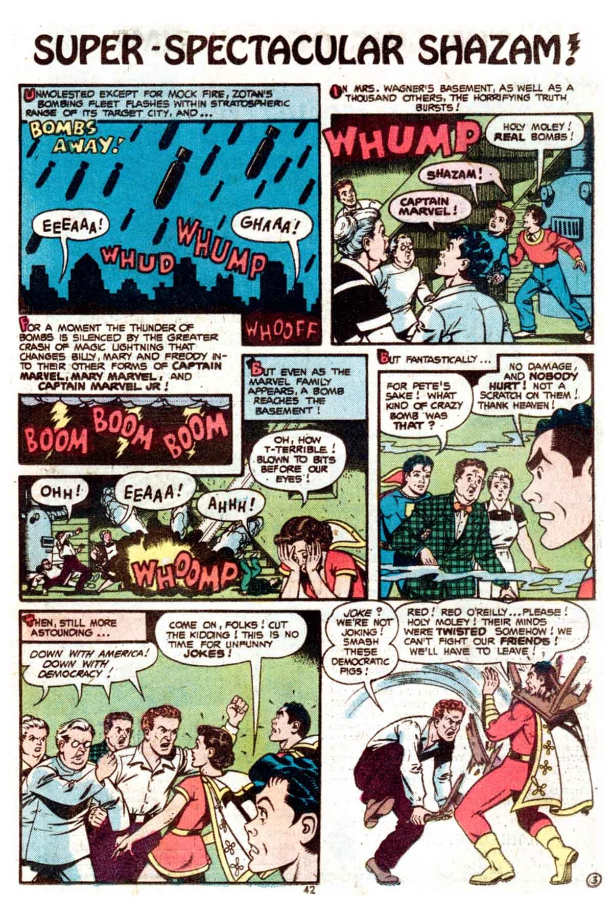 Read online Shazam! (1973) comic -  Issue #15 - 42