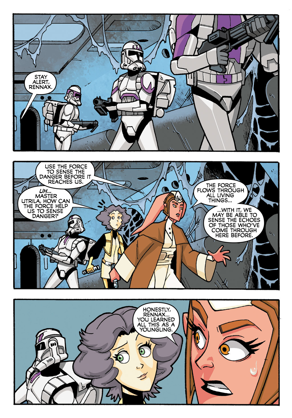 Read online Star Wars: The Clone Wars - Defenders of the Lost Temple comic -  Issue # Full - 28