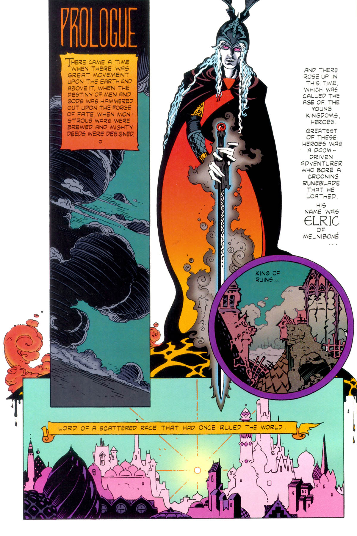 Read online Elric: Stormbringer comic -  Issue #1 - 4