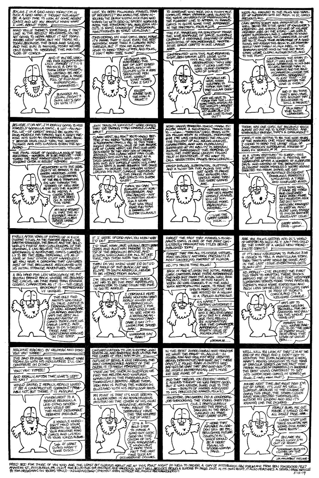 Read online The Nearly Complete Essential Hembeck Archives Omnibus comic -  Issue # TPB (Part 4) - 31