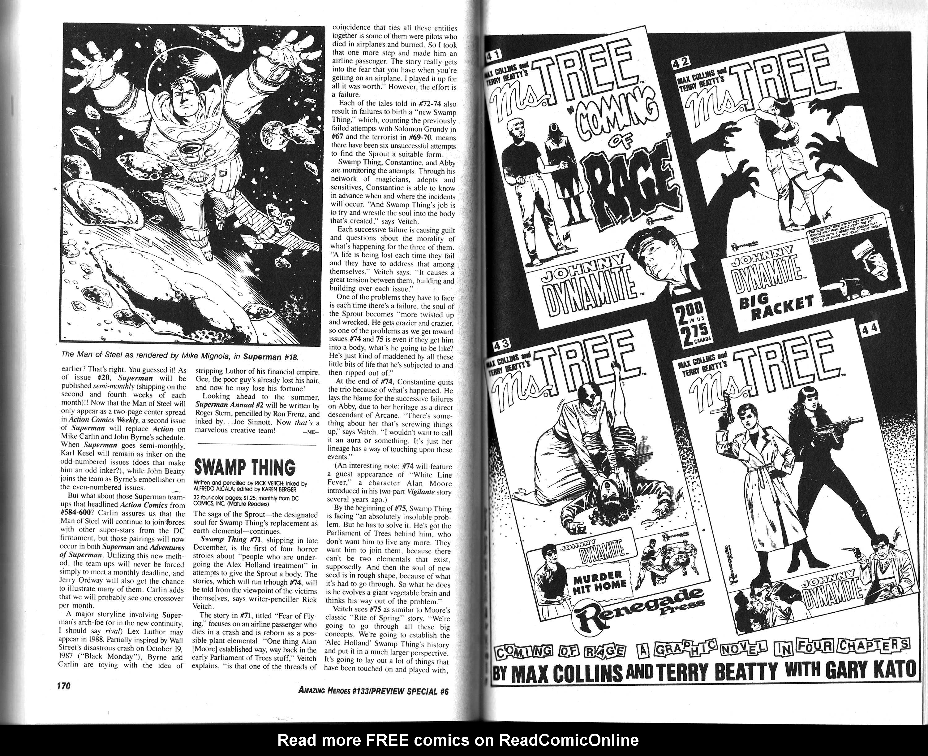 Read online Amazing Heroes comic -  Issue #133 - 87