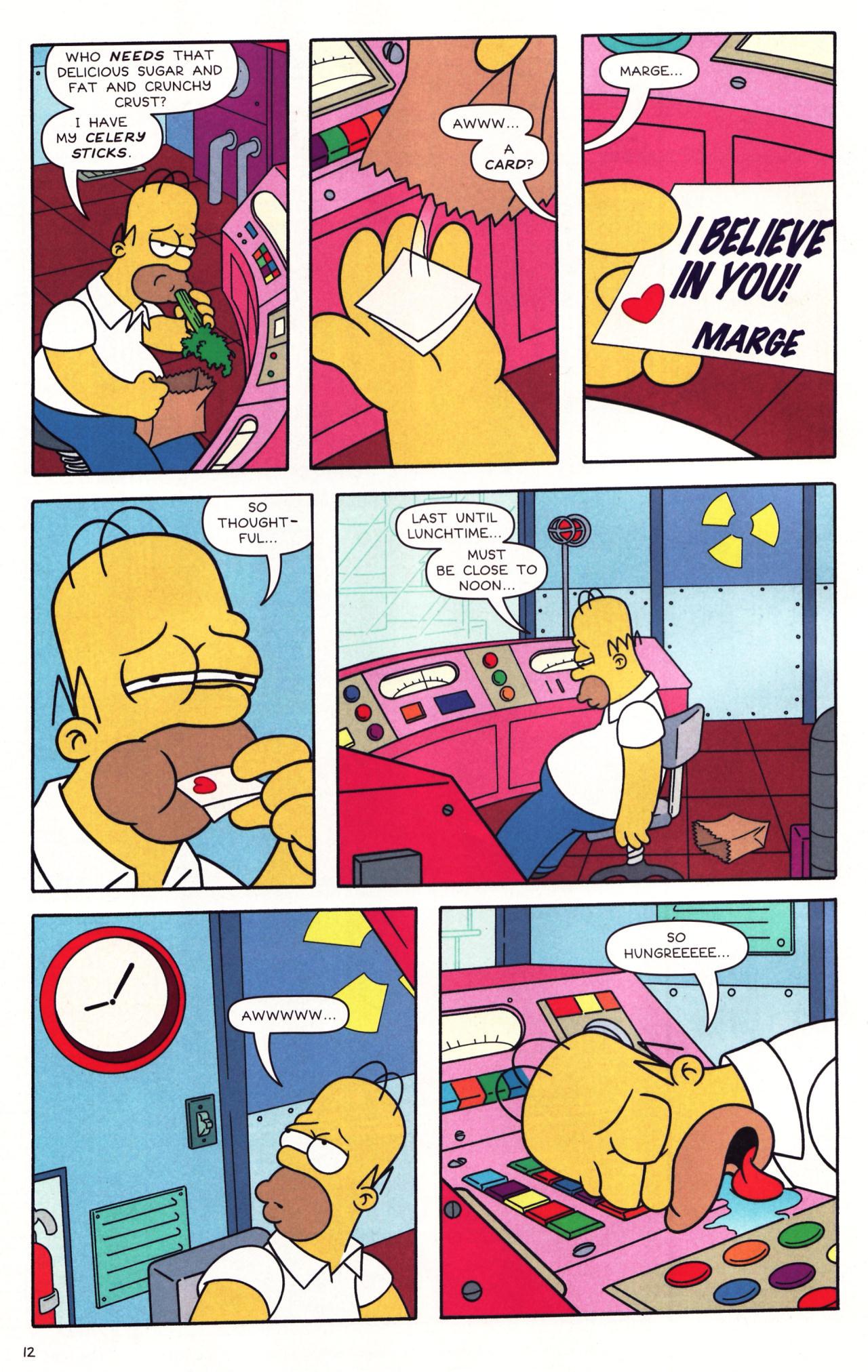Read online Simpsons Comics comic -  Issue #137 - 9