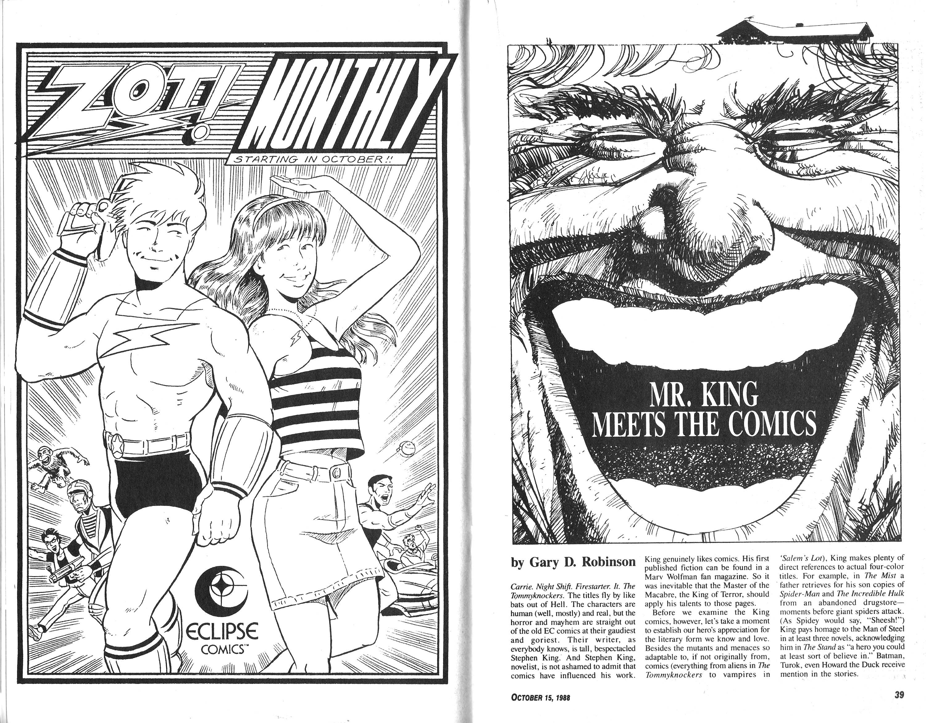 Read online Amazing Heroes comic -  Issue #151 - 20
