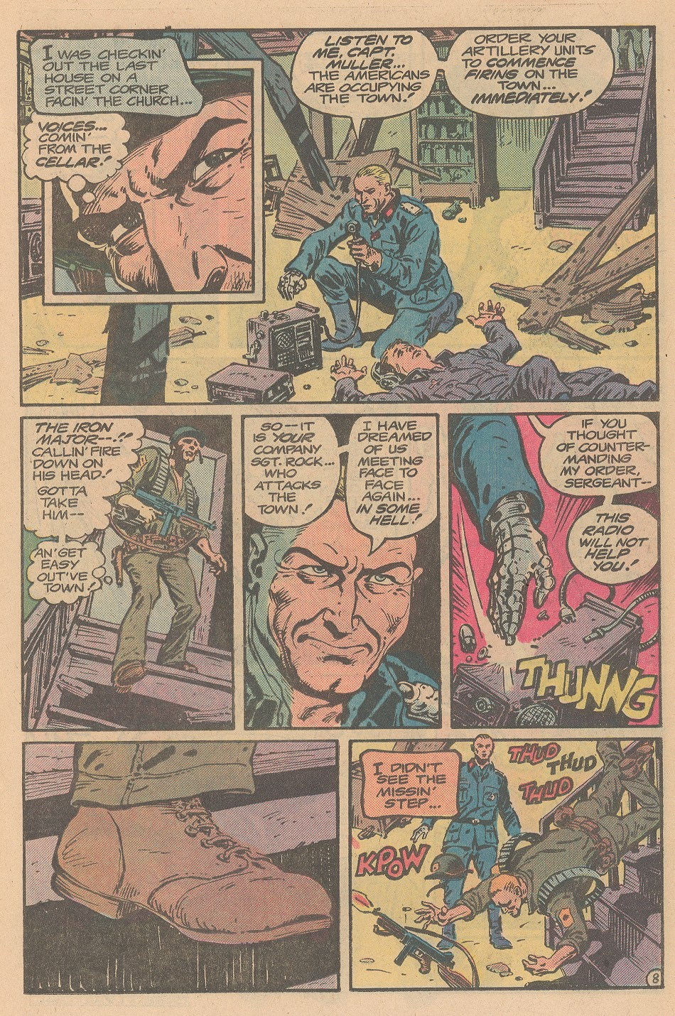 Read online Sgt. Rock comic -  Issue #359 - 9