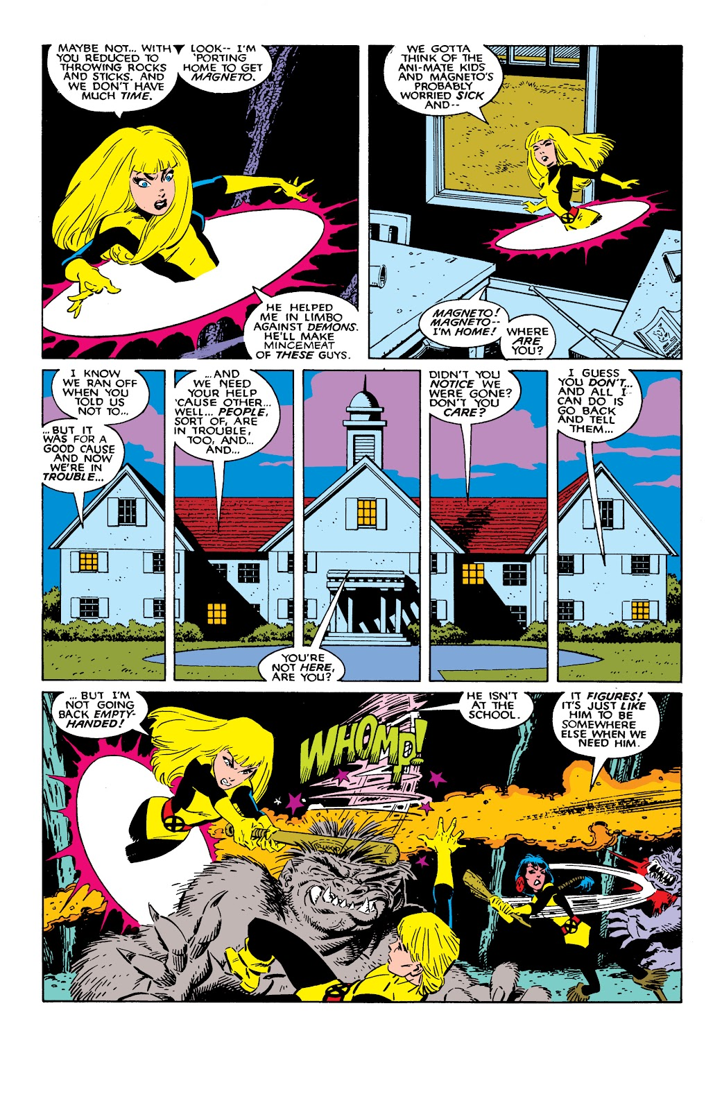 Read online X-Men Milestones: Fall of the Mutants comic -  Issue # TPB (Part 2) - 36
