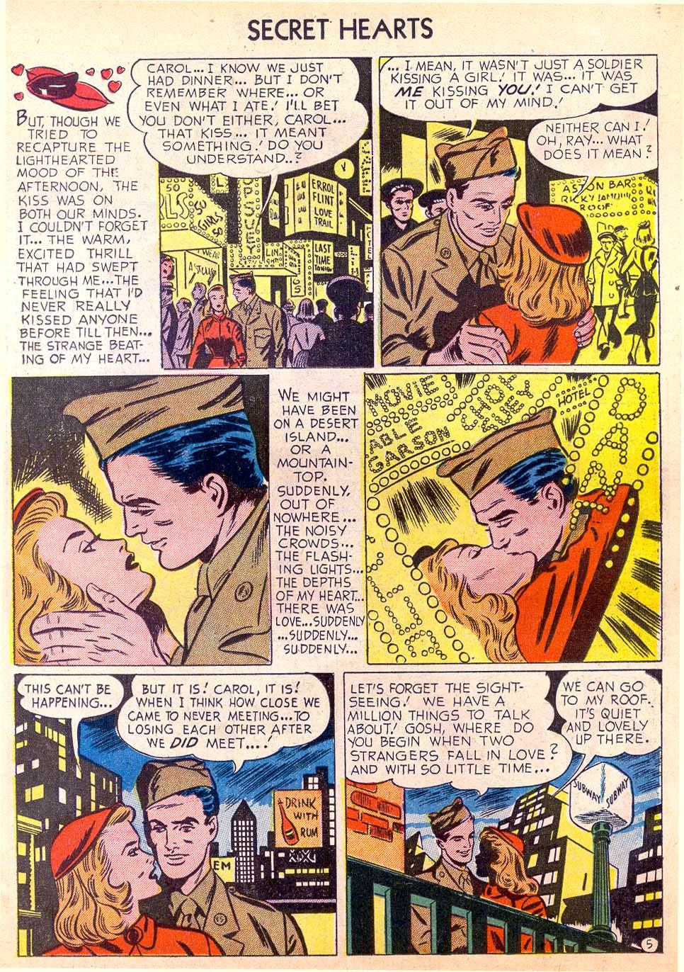 Read online Secret Hearts comic -  Issue #11 - 23