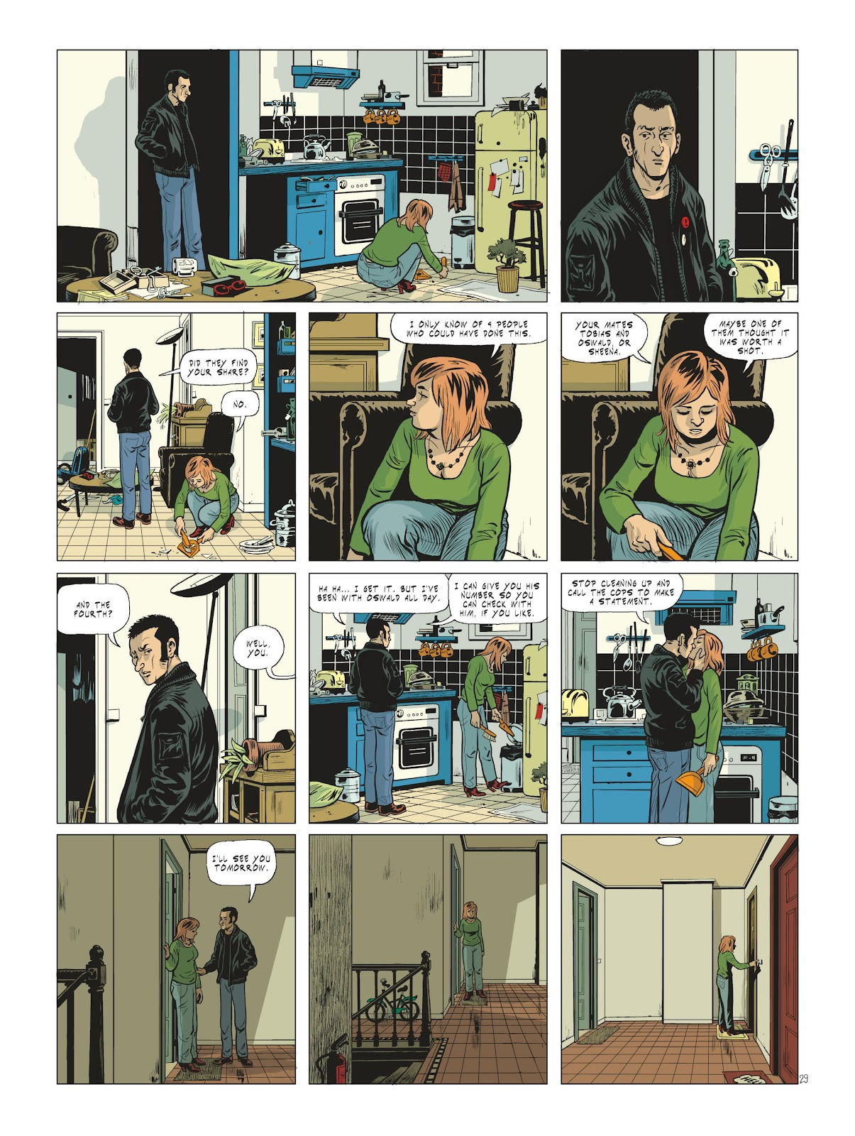 Read online Maggy Garrisson comic -  Issue #2 - 31