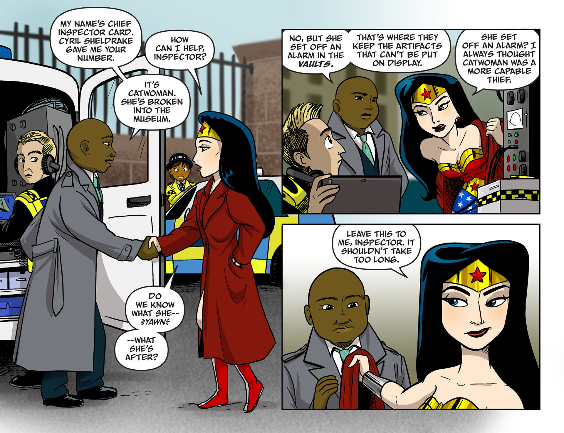 Read online Sensation Comics Featuring Wonder Woman comic -  Issue #9 - 7