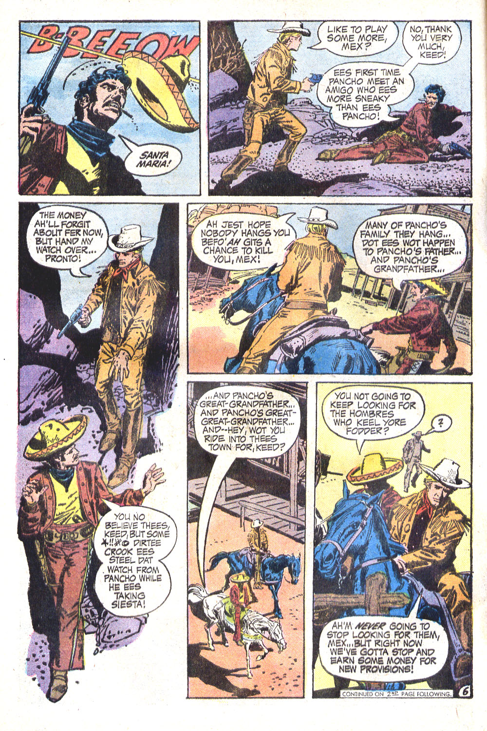 Read online All-Star Western (1970) comic -  Issue #6 - 8