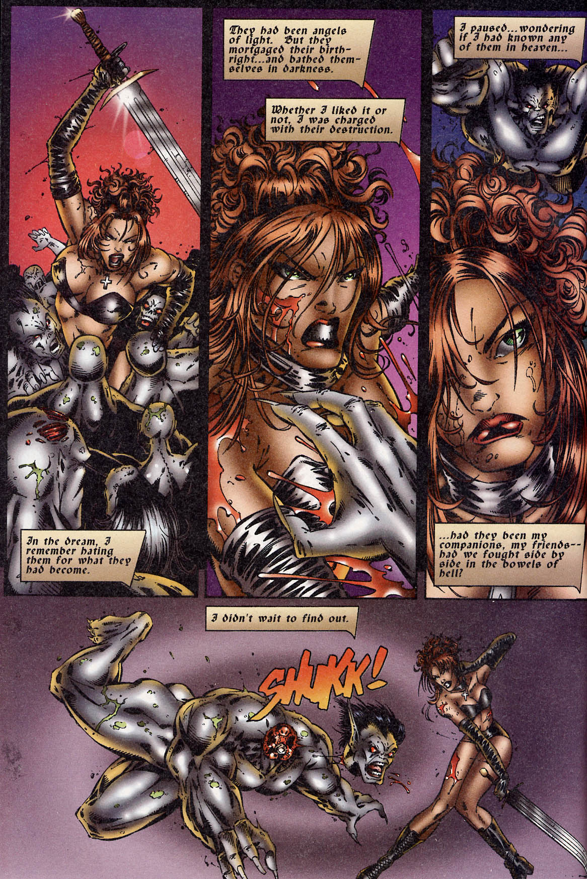 Read online Avengelyne (1995) comic -  Issue #3 - 4
