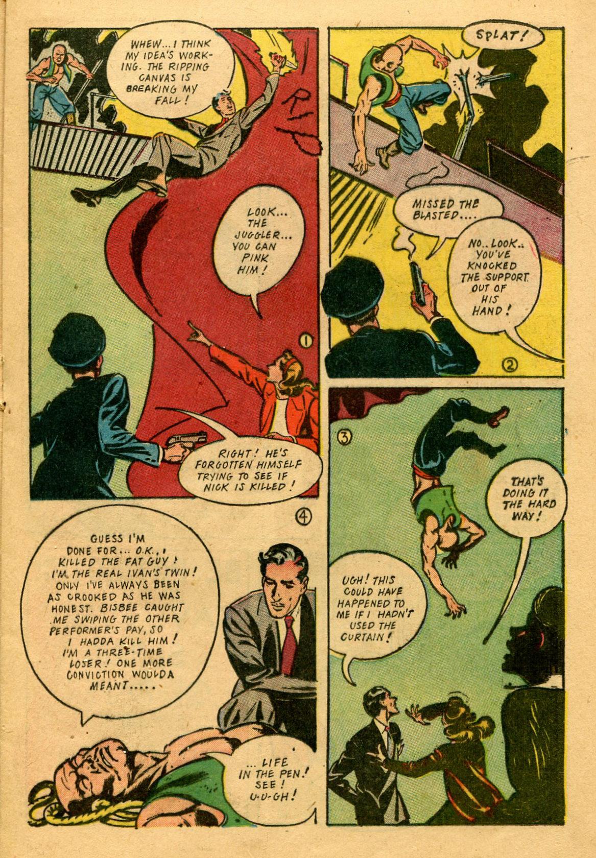 Read online Shadow Comics comic -  Issue #53 - 24