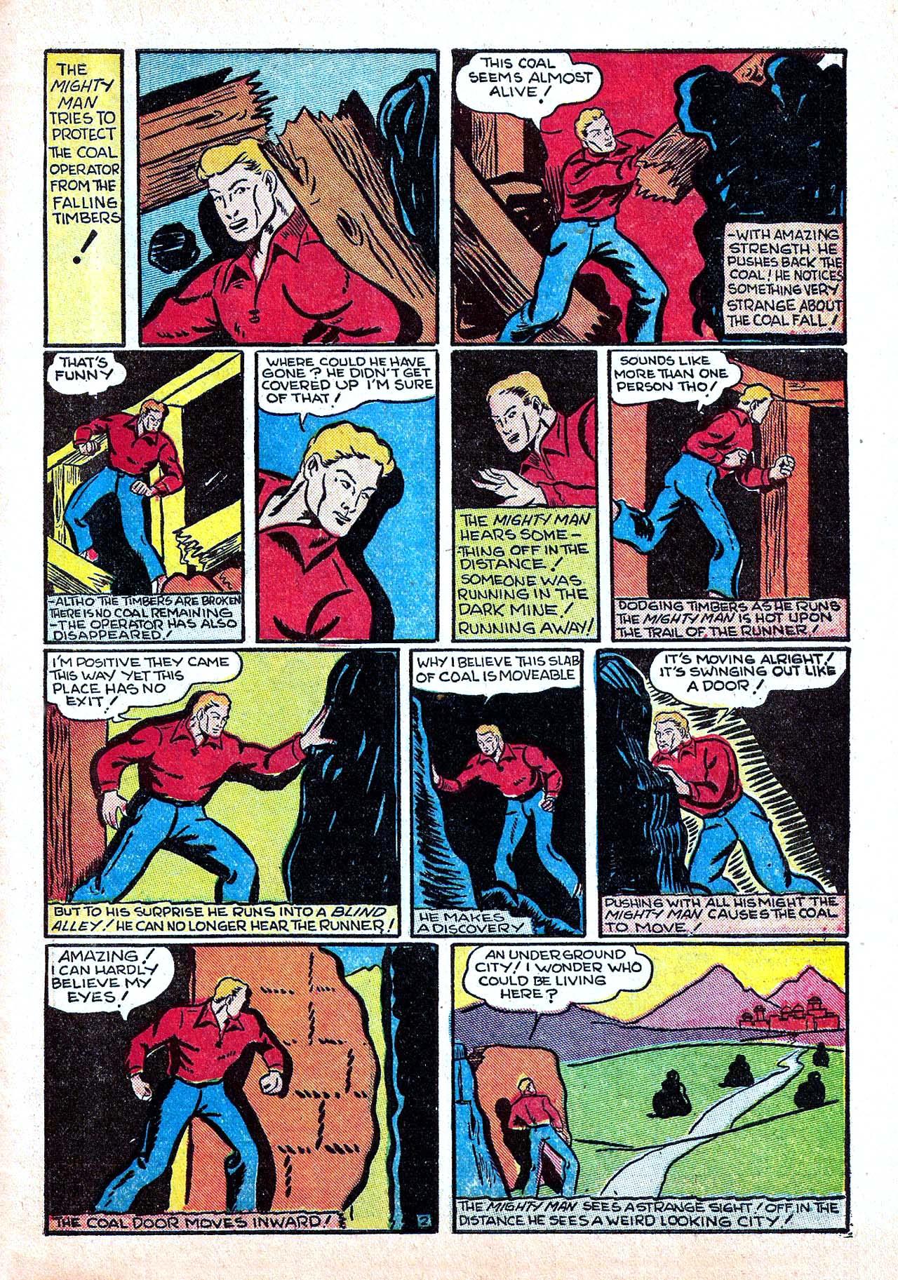 Read online Amazing Man Comics comic -  Issue #11 - 53