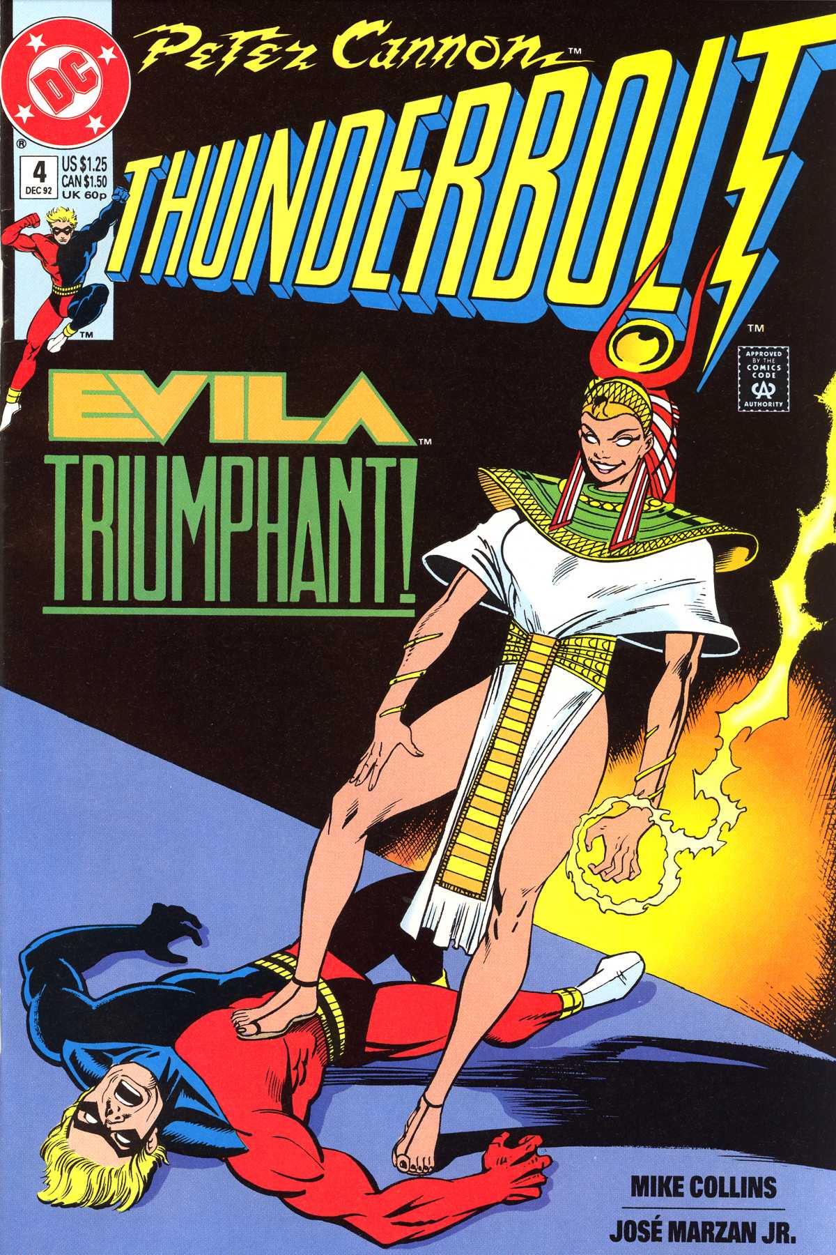 Read online Peter Cannon--Thunderbolt (1992) comic -  Issue #4 - 1