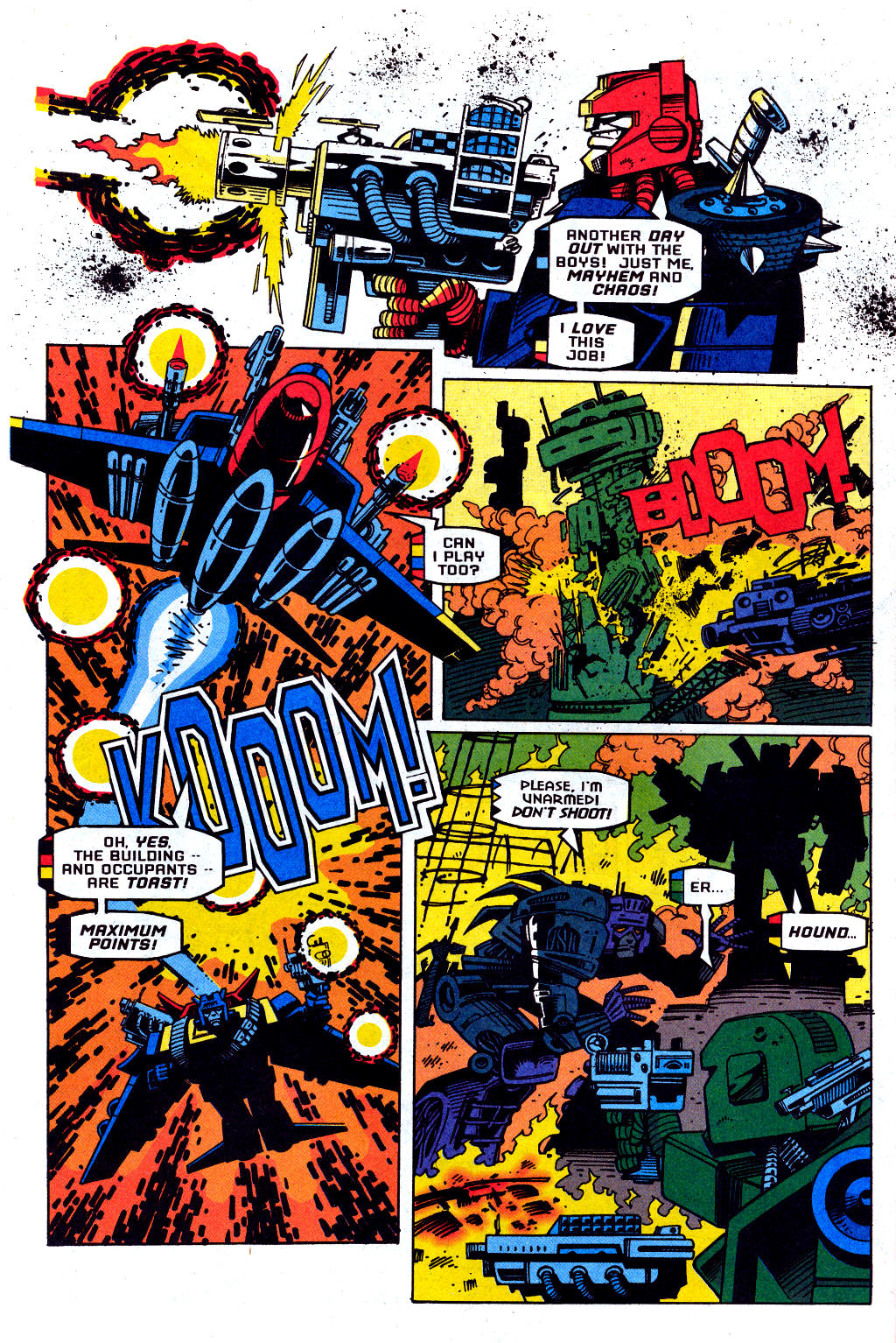 Read online Transformers: Generation 2 comic -  Issue #1 - 5