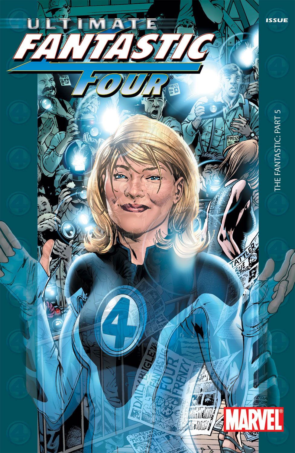 Read online Ultimate Fantastic Four (2004) comic -  Issue #5 - 1
