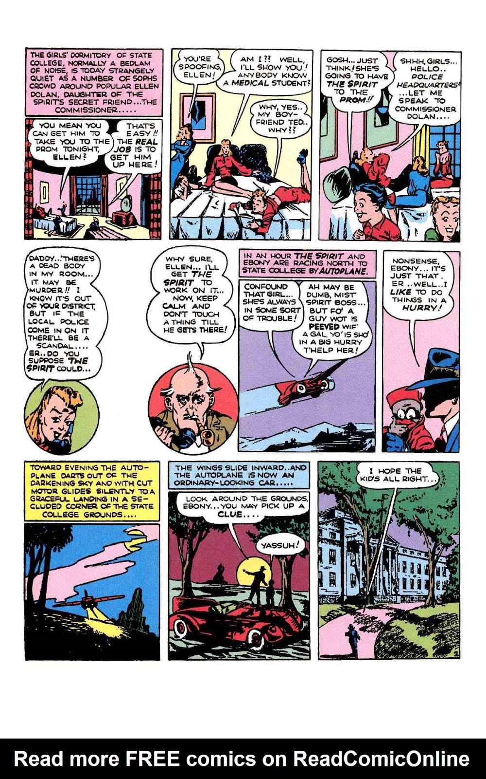 Read online Will Eisner's The Spirit Archives comic -  Issue # TPB 1 (Part 2) - 85