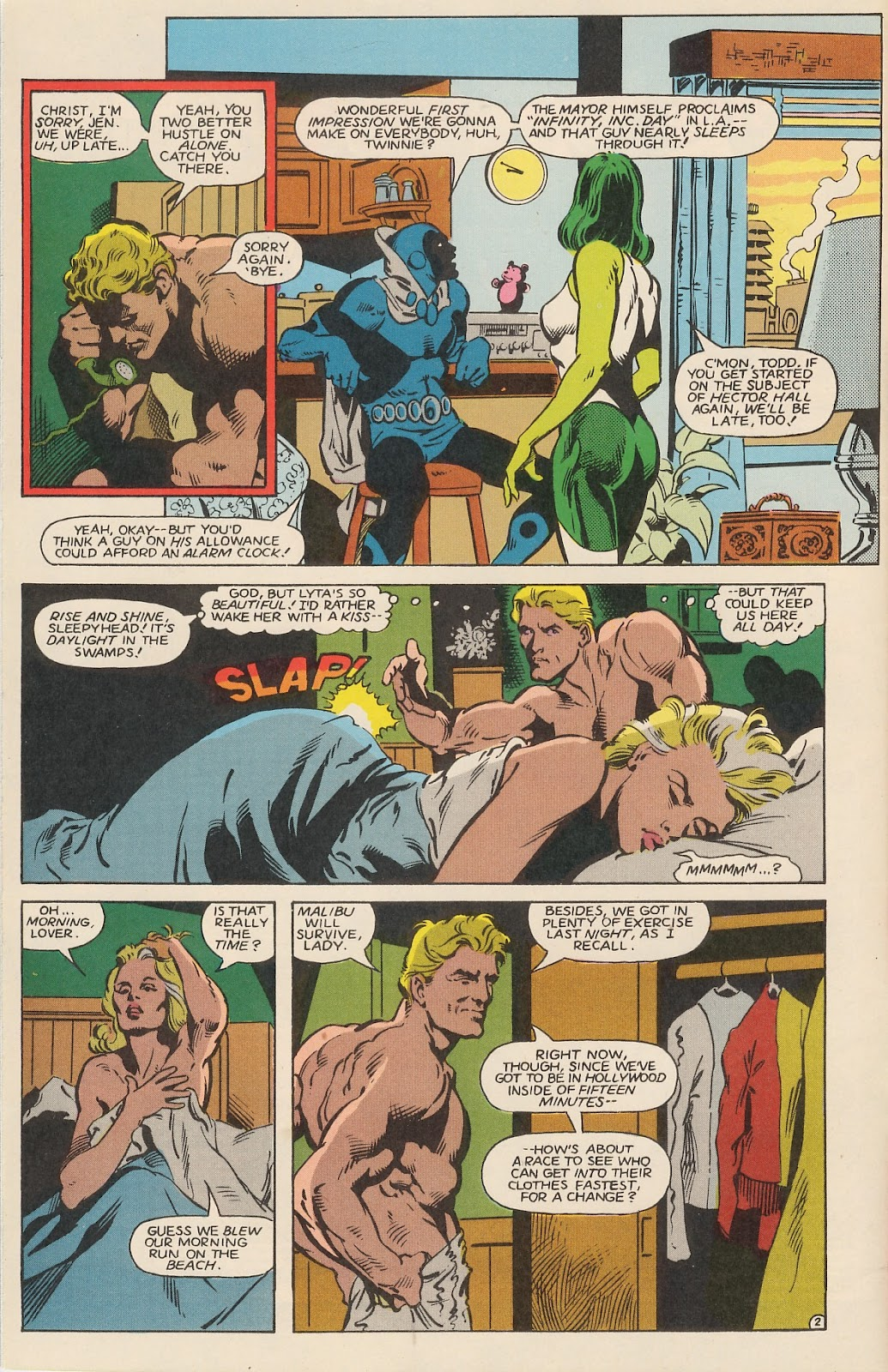 Infinity Inc. (1984) issue 12 - Page 4