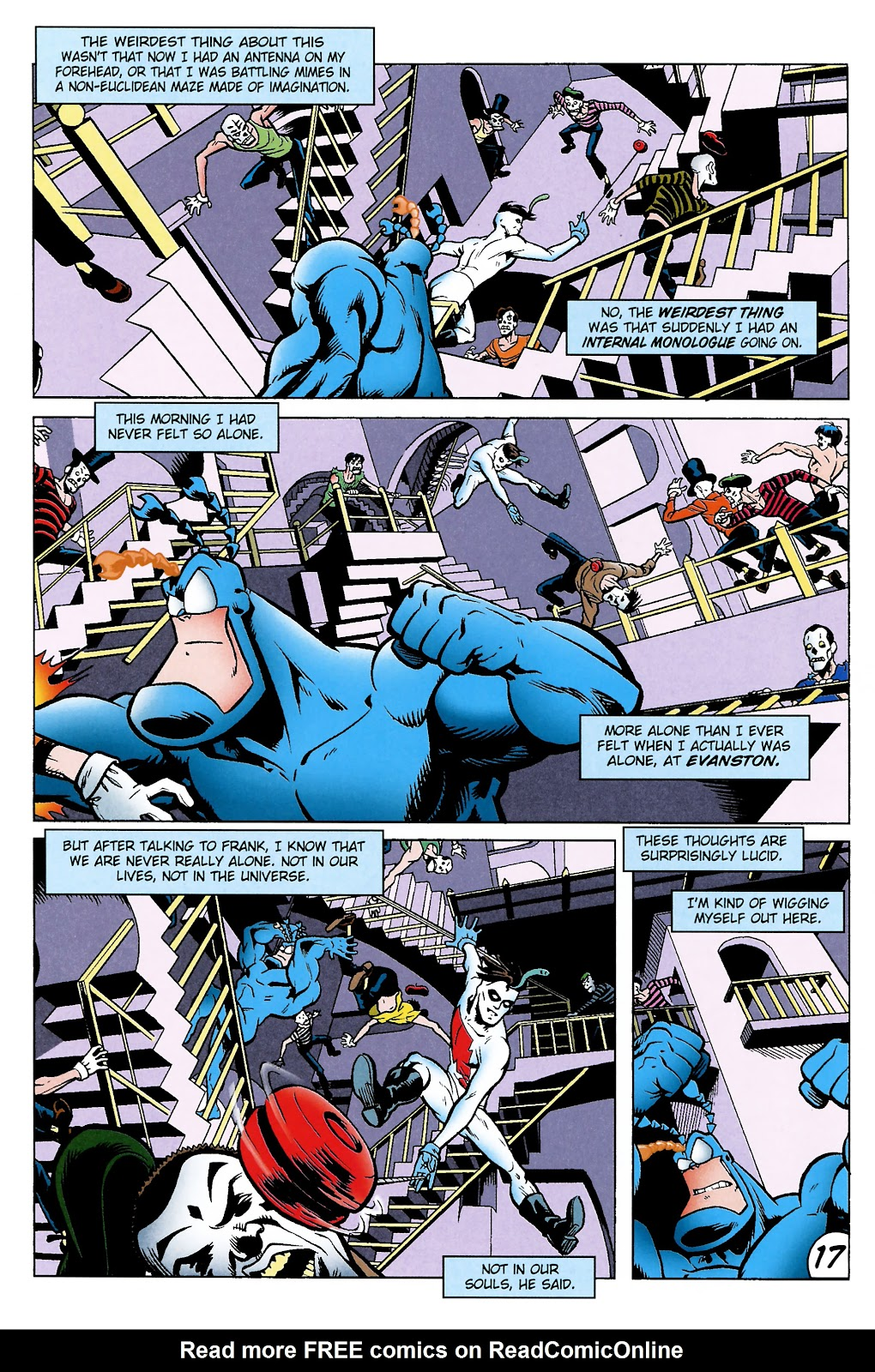 Read online The Tick comic -  Issue #101 - 20