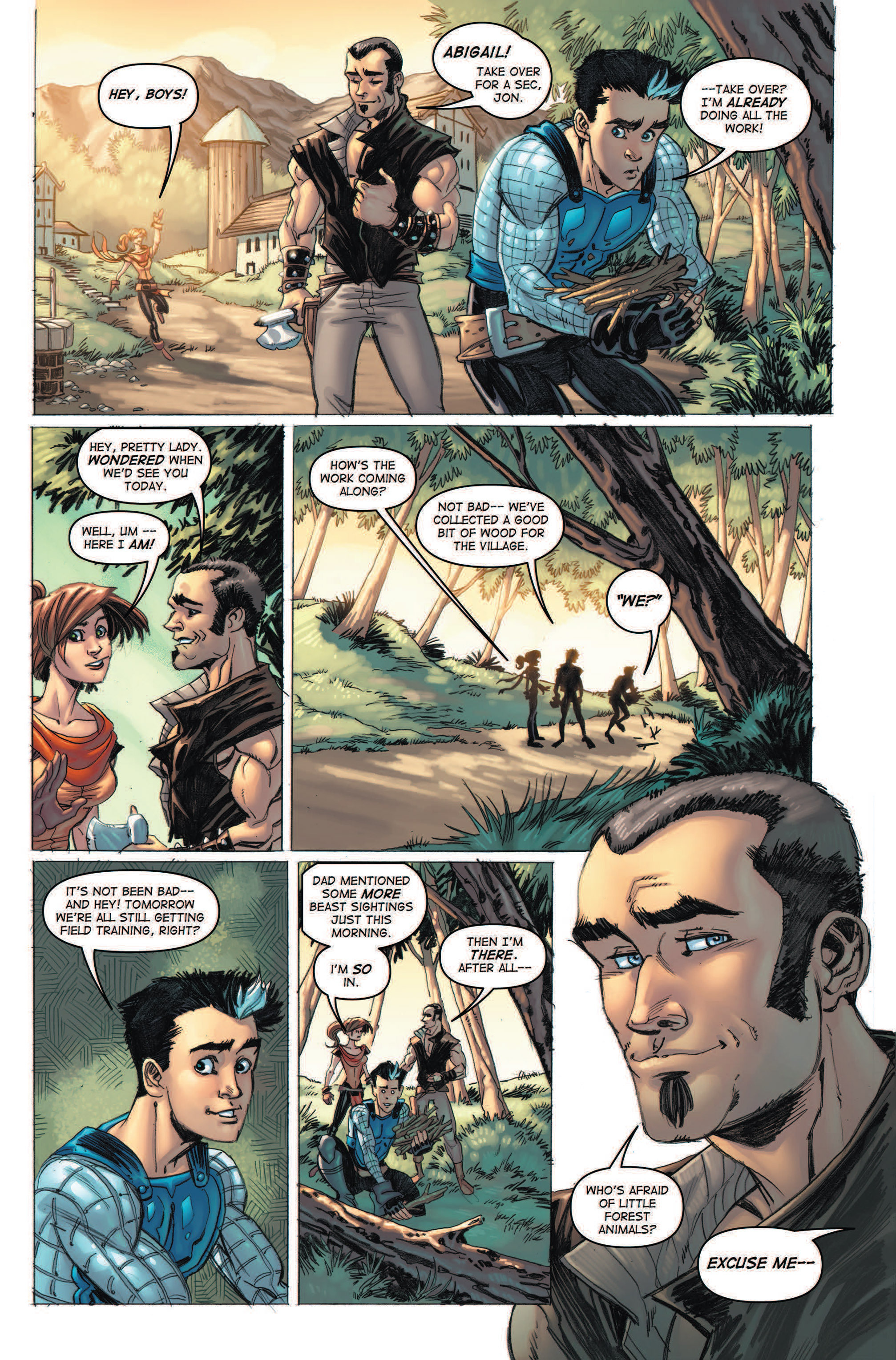 Read online Skyward comic -  Issue #2 - 25