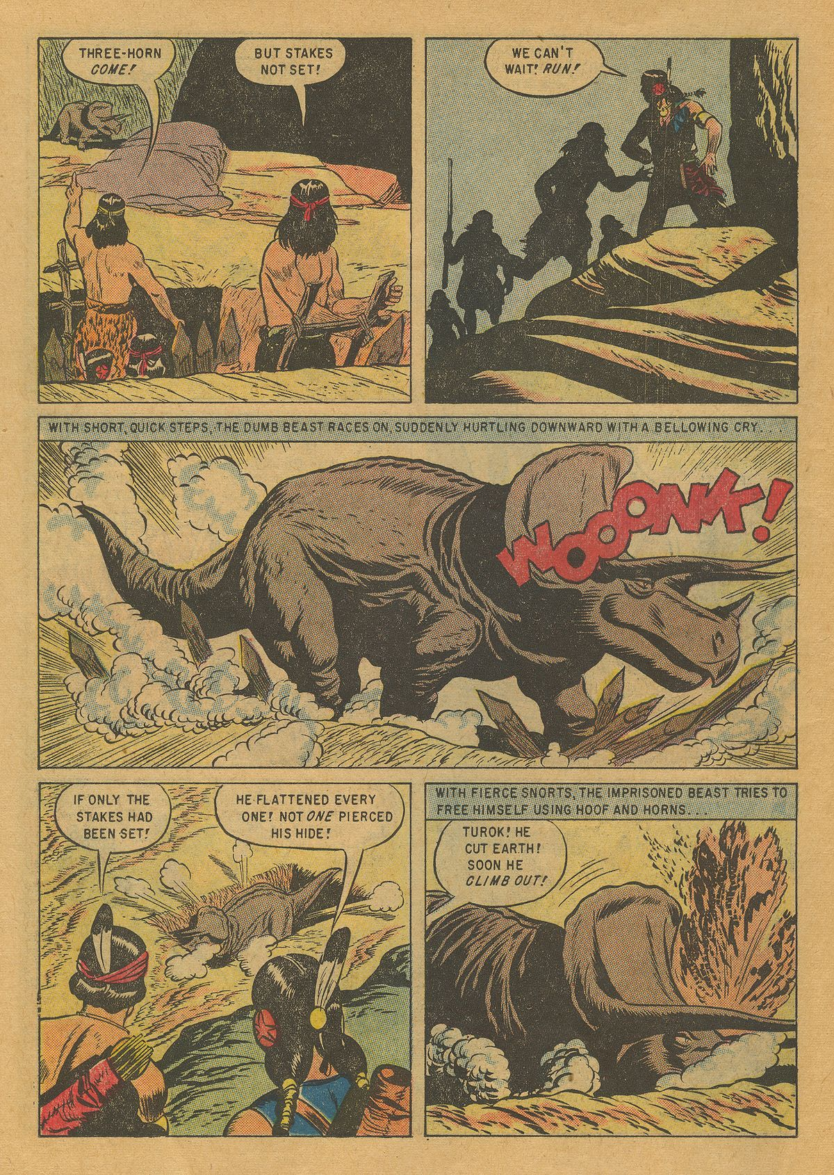 Read online Turok, Son of Stone comic -  Issue #10 - 14