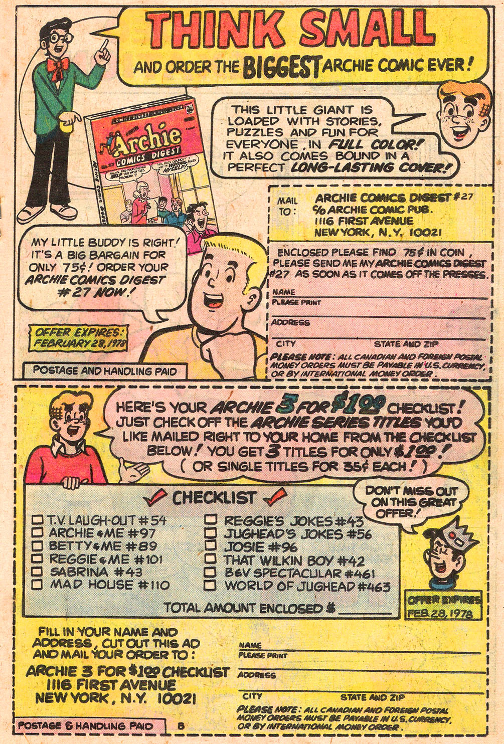 Read online Archie's Girls Betty and Veronica comic -  Issue #263 - 19