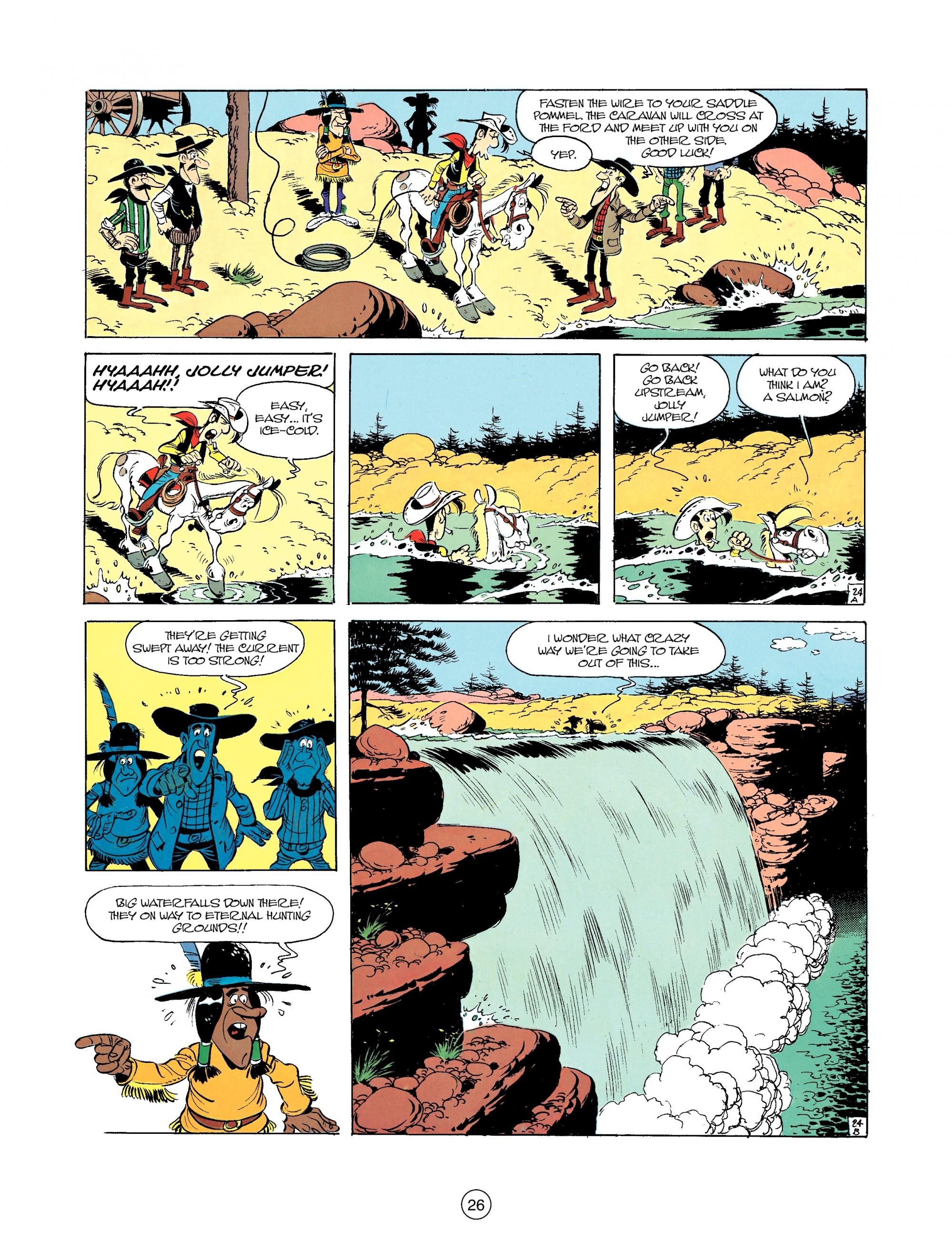 Read online A Lucky Luke Adventure comic -  Issue #35 - 26