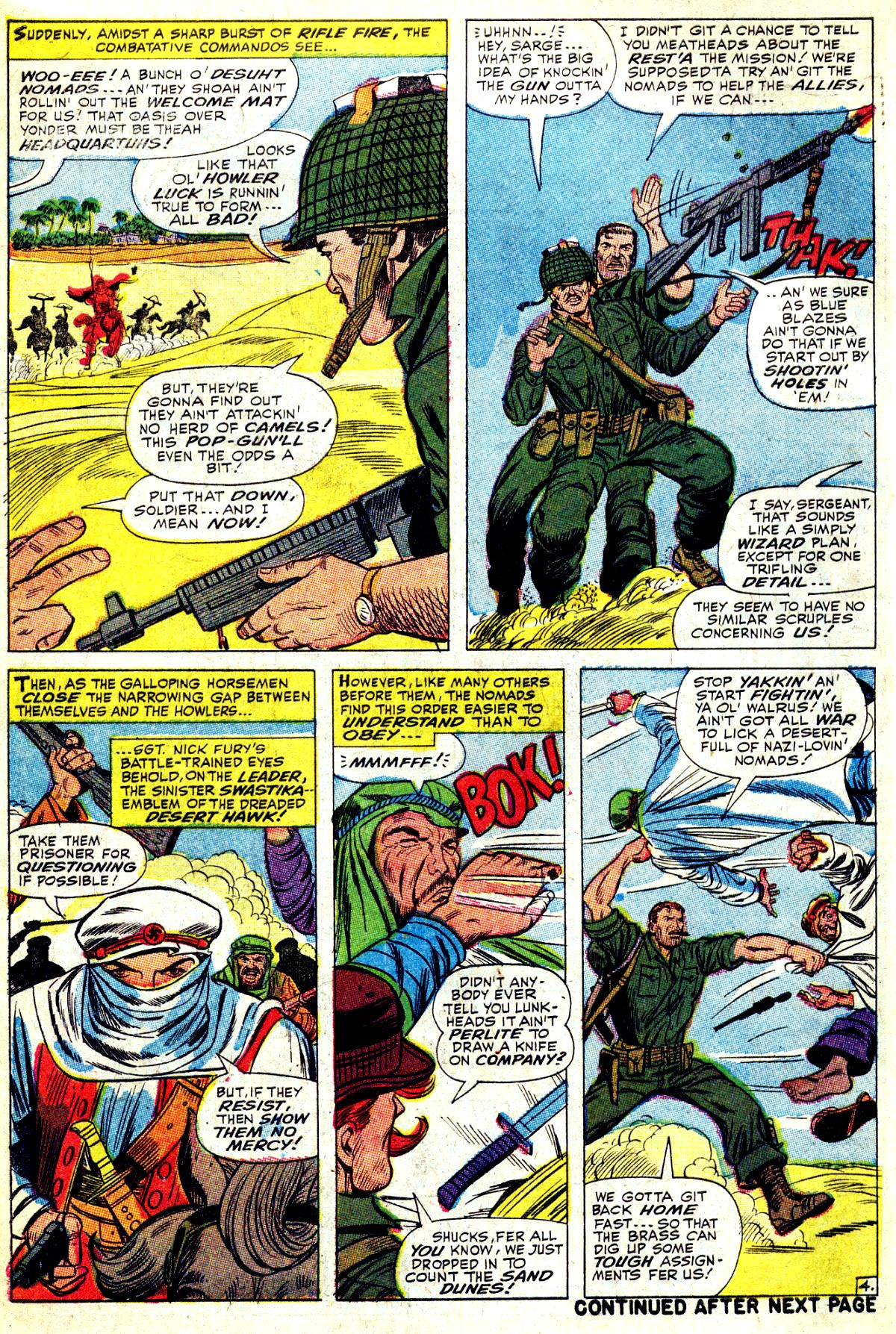 Read online Sgt. Fury comic -  Issue #37 - 6