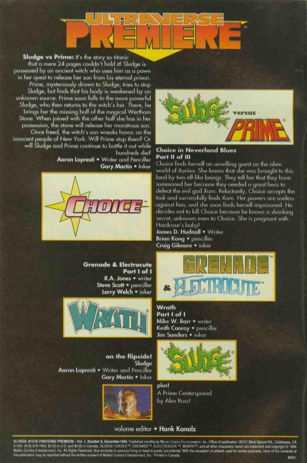 Read online Ultraverse Premiere comic -  Issue #8 - 2
