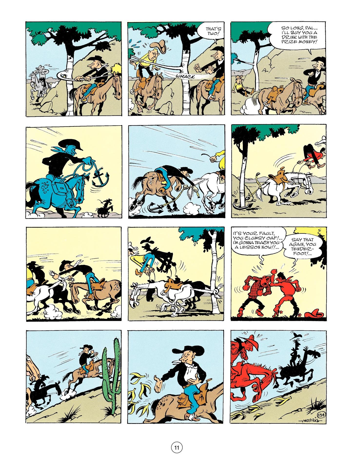Read online A Lucky Luke Adventure comic -  Issue #56 - 11