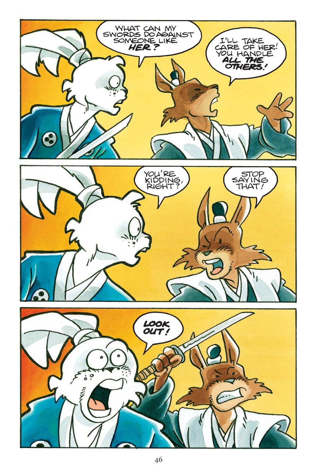 Read online Usagi Yojimbo: Yokai comic -  Issue # Full - 43