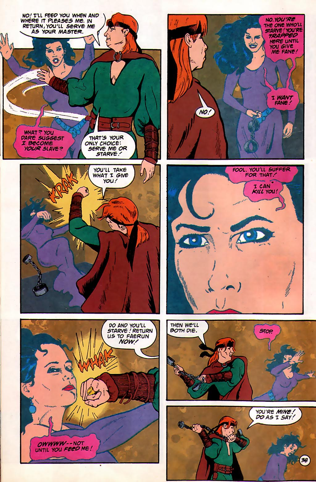 Read online Avatar comic -  Issue #3 - 40