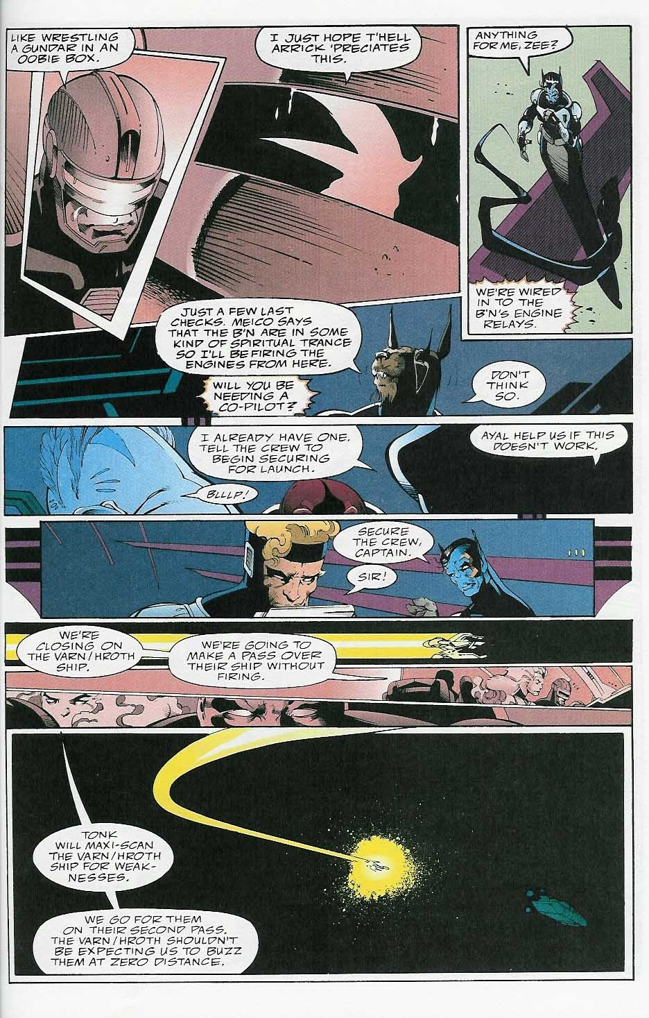 Alien Legion: On the Edge issue 2 - Page 40