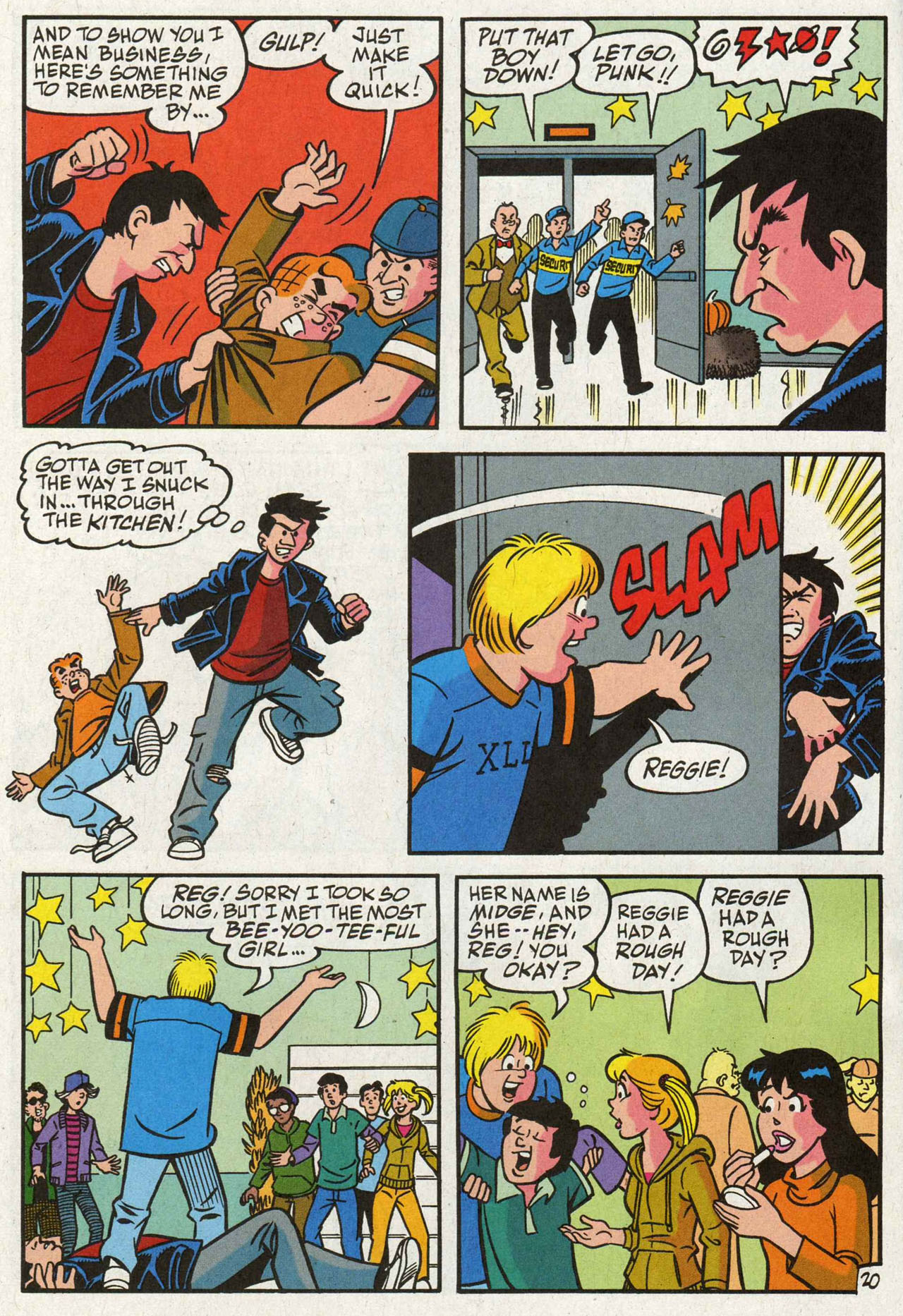 Read online Archie (1960) comic -  Issue #588 - 21