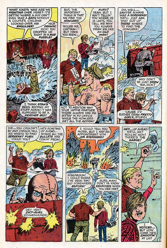 Read online Sgt. Fury comic -  Issue # _Special 4 - 62