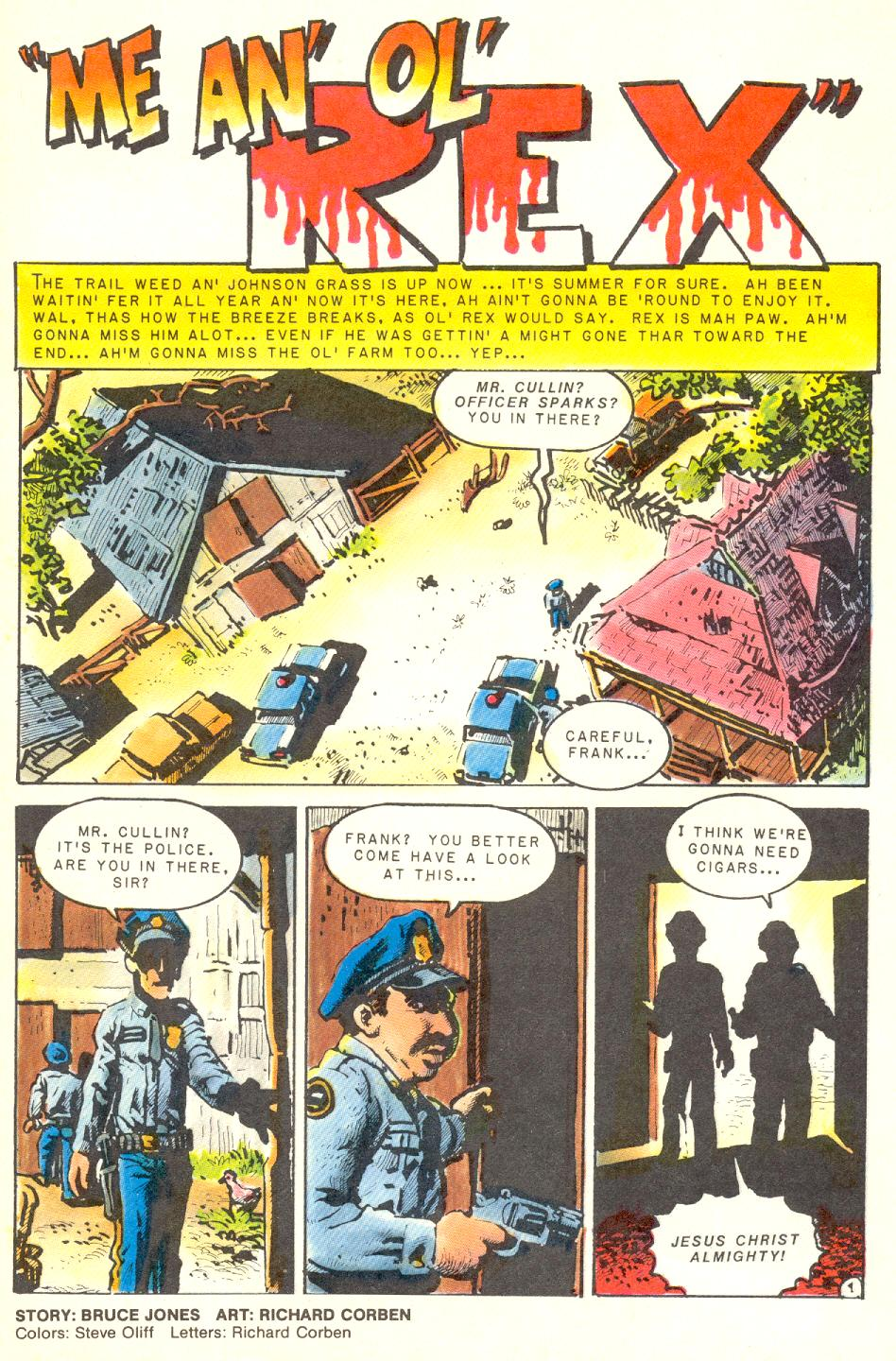 Read online Twisted Tales (1982) comic -  Issue #3 - 2