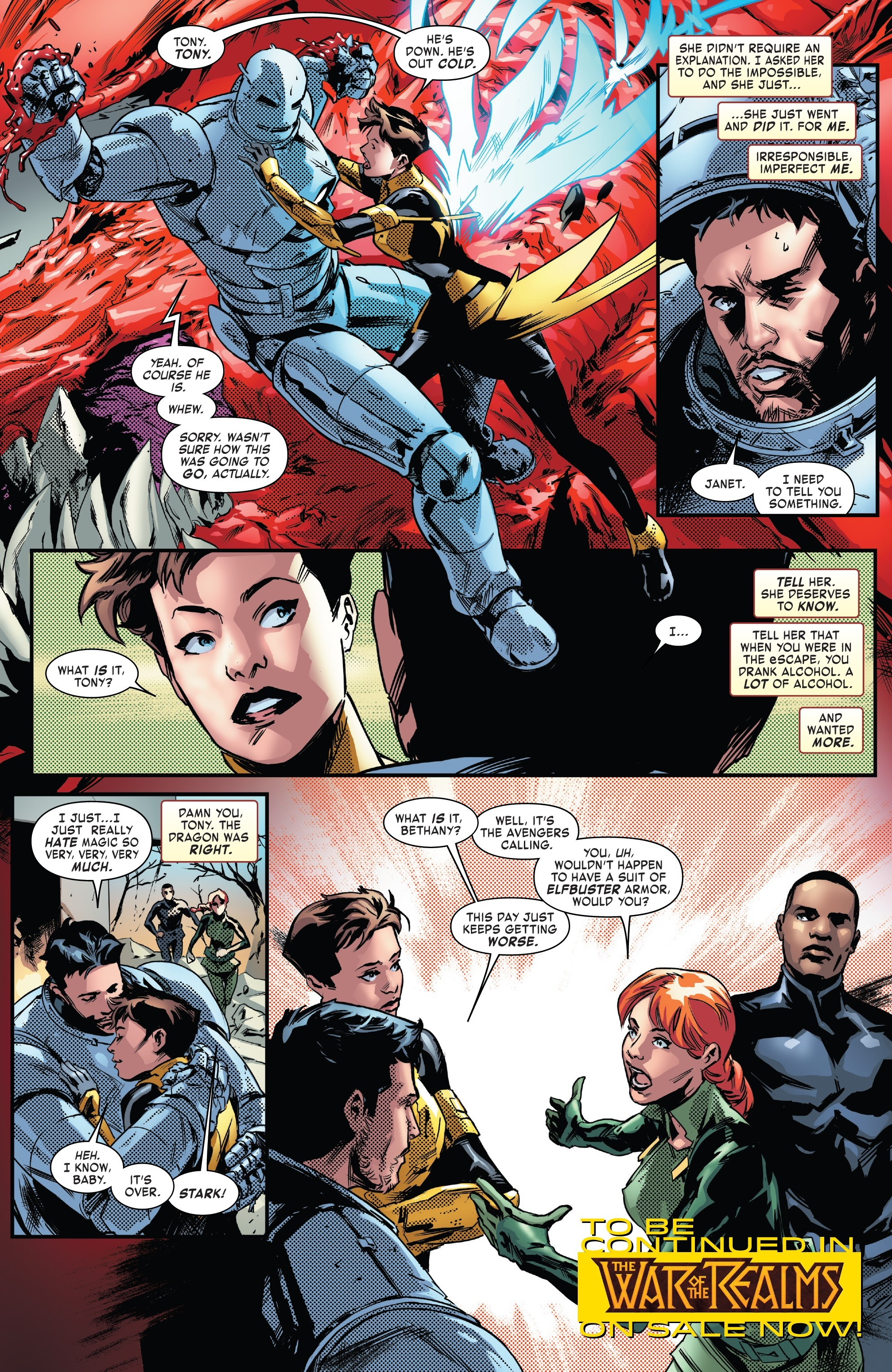 Read online Tony Stark: Iron Man comic -  Issue #13 - 23
