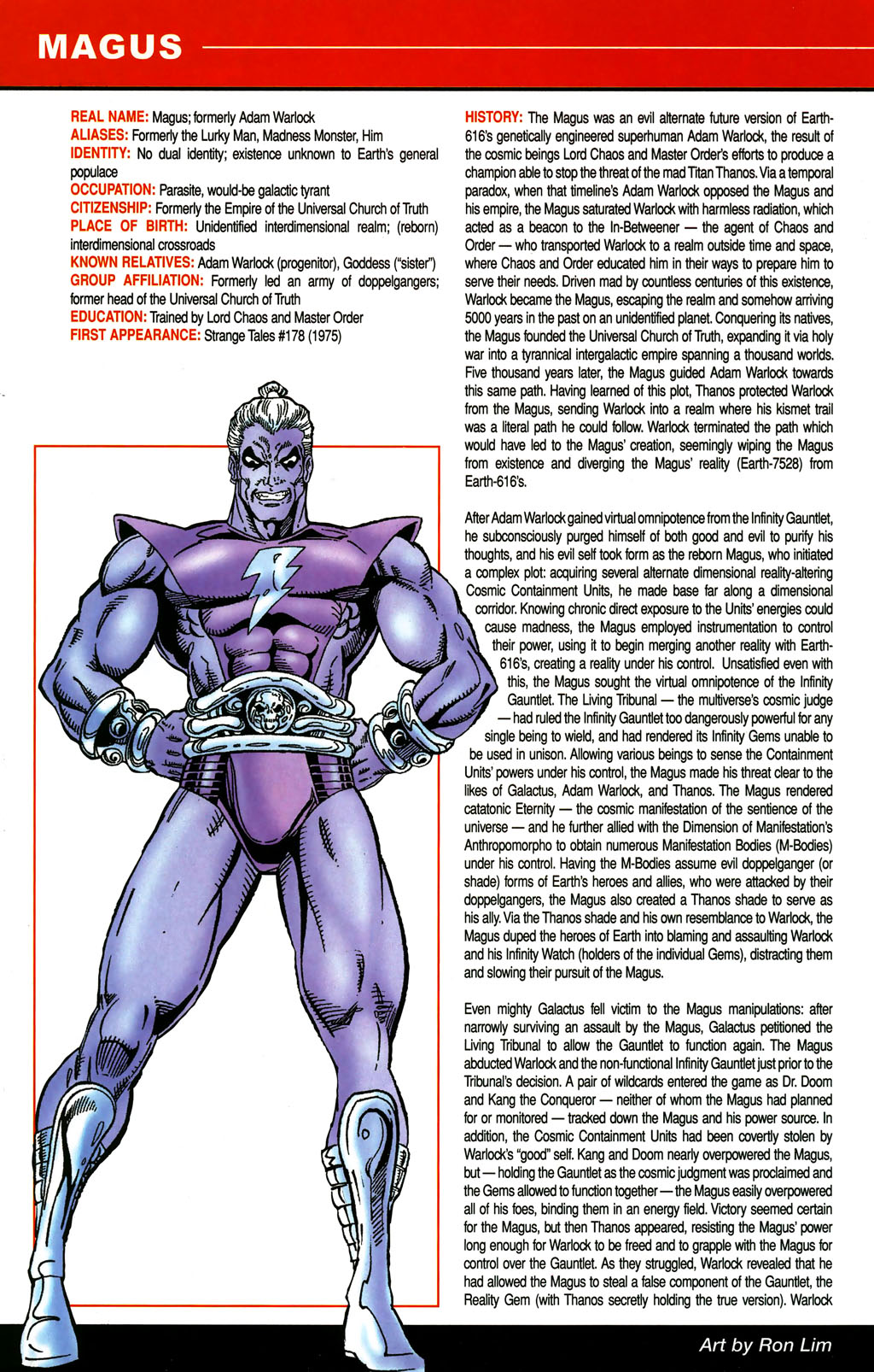 Read online All-New Official Handbook of the Marvel Universe A to Z comic -  Issue #6 - 60