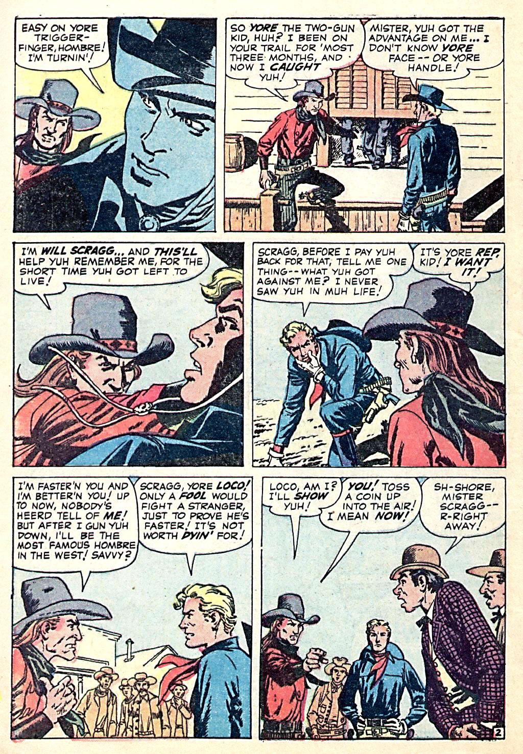 Read online Two-Gun Kid comic -  Issue #49 - 4