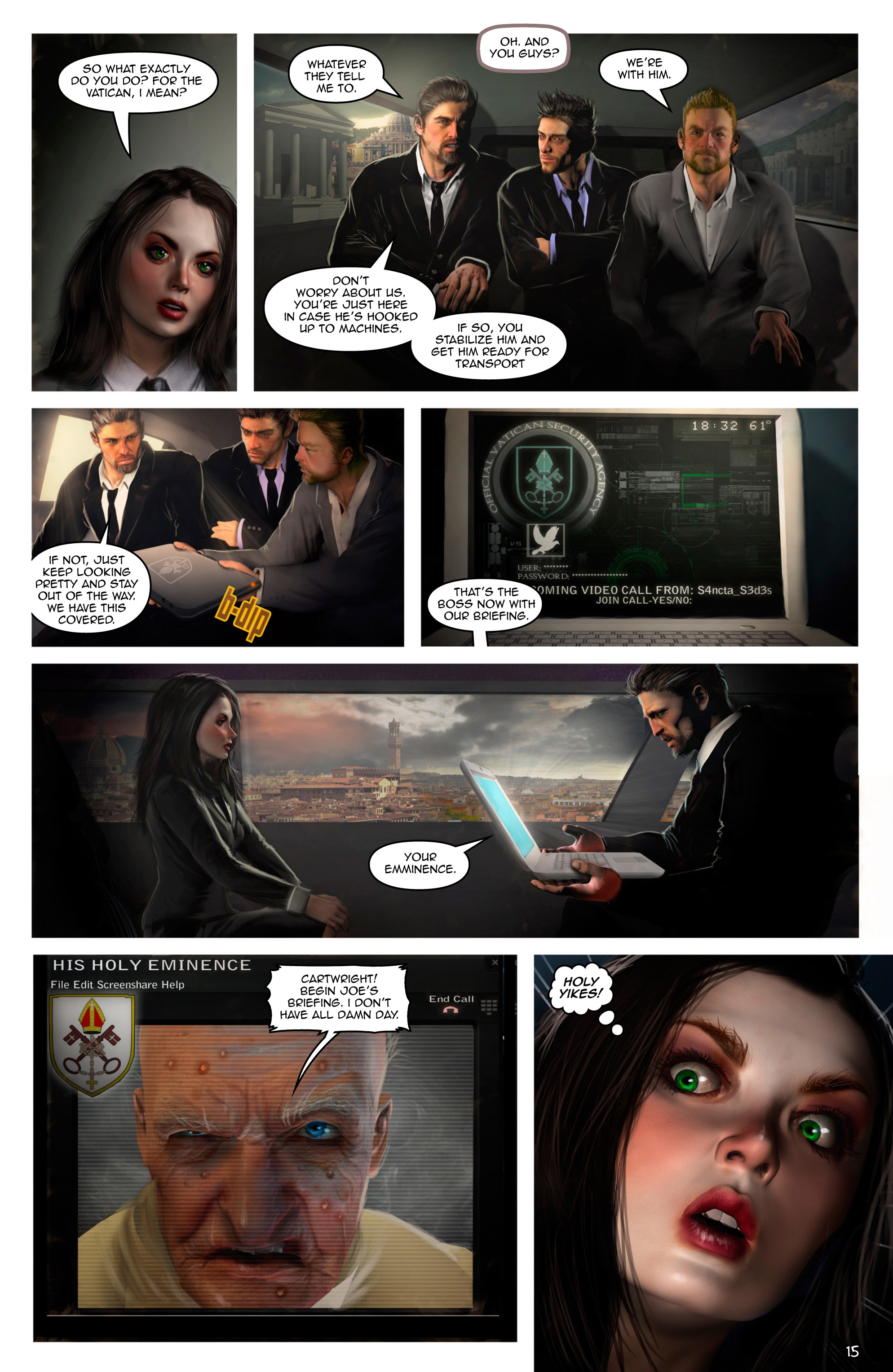 Read online Escape from Jesus Island comic -  Issue #2 - 15