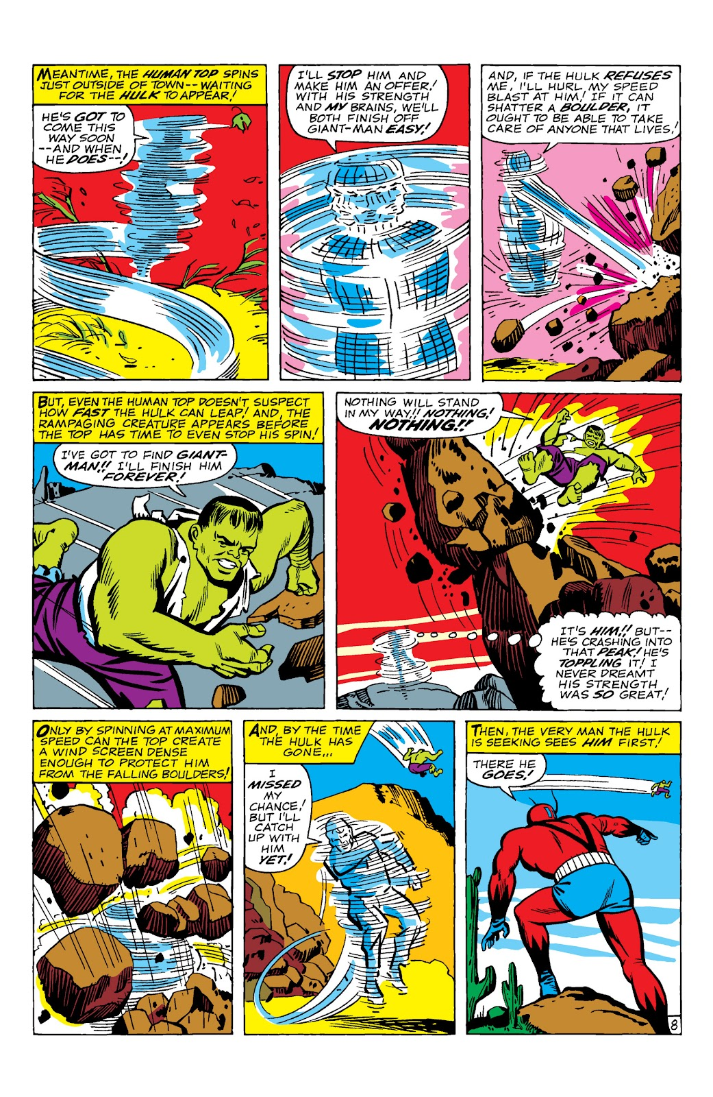 Read online Marvel Masterworks: The Incredible Hulk comic -  Issue # TPB 2 (Part 1) - 11